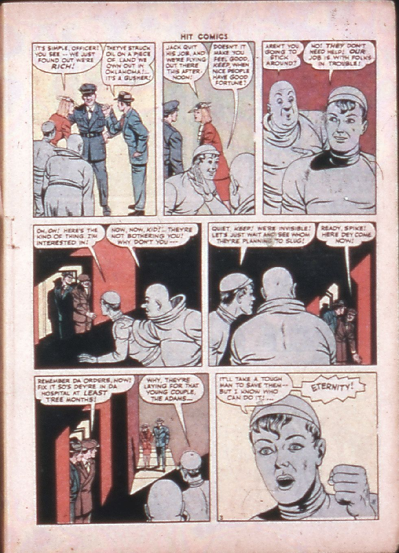 Read online Hit Comics comic -  Issue #33 - 5