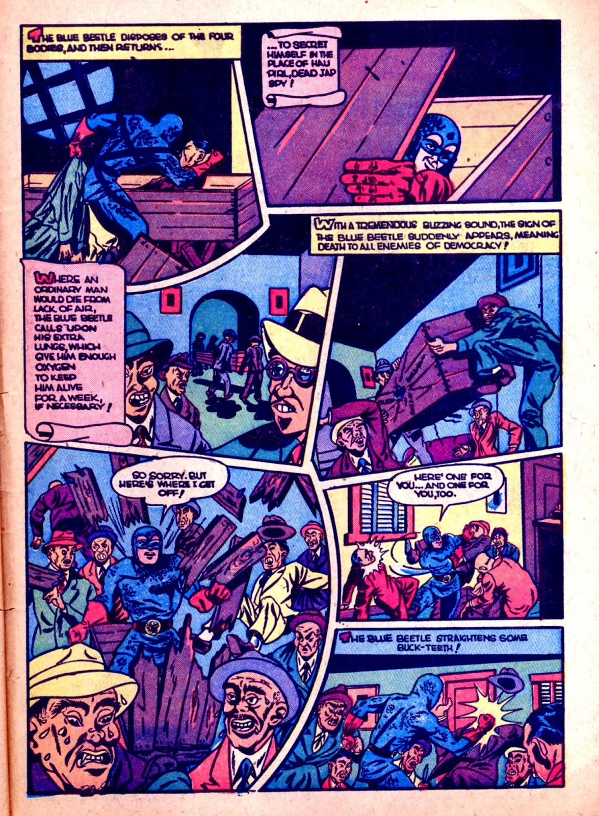 The Blue Beetle issue 31 - Page 45