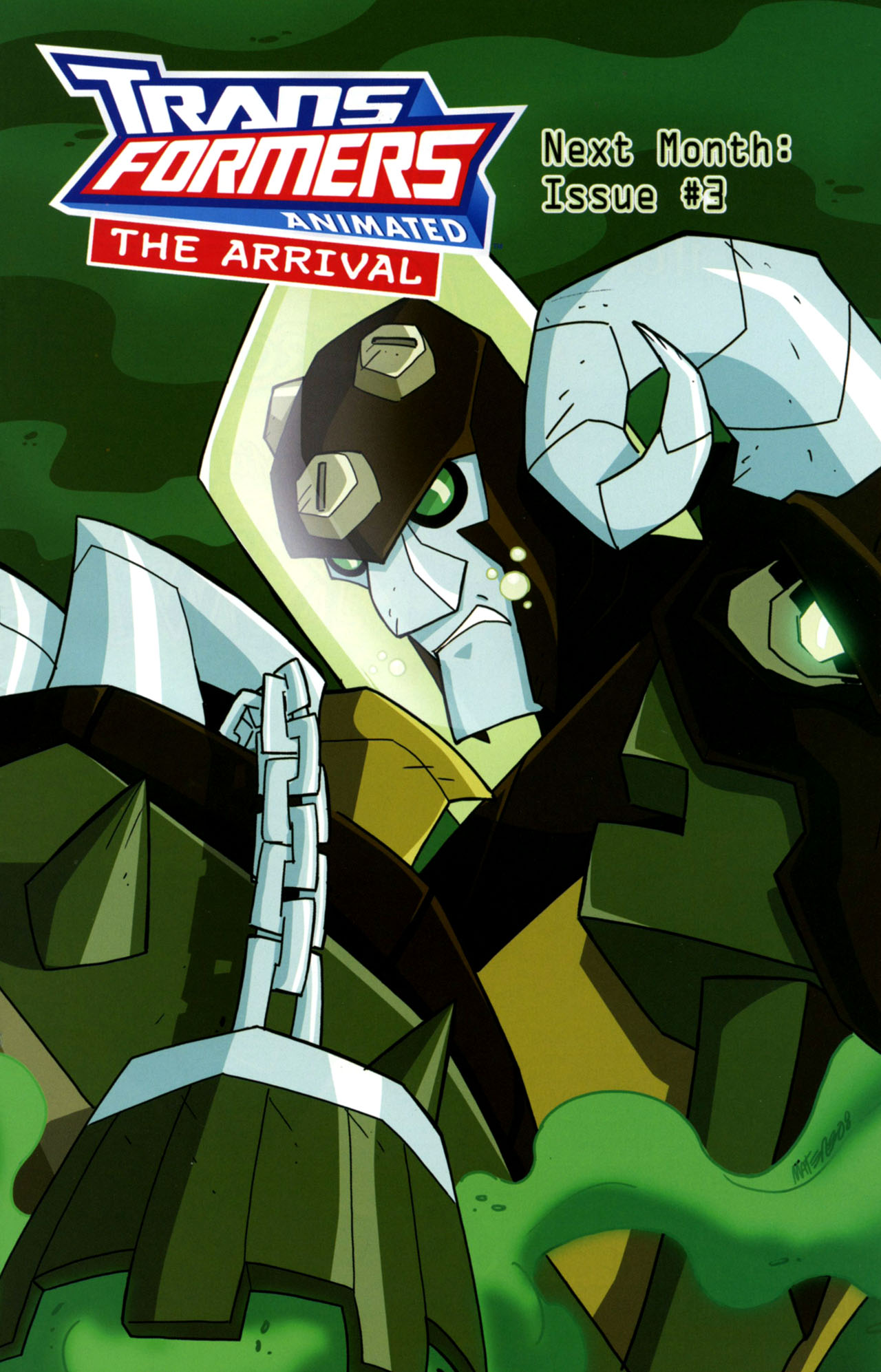 Read online Transformers Animated: The Arrival comic -  Issue #2 - 26