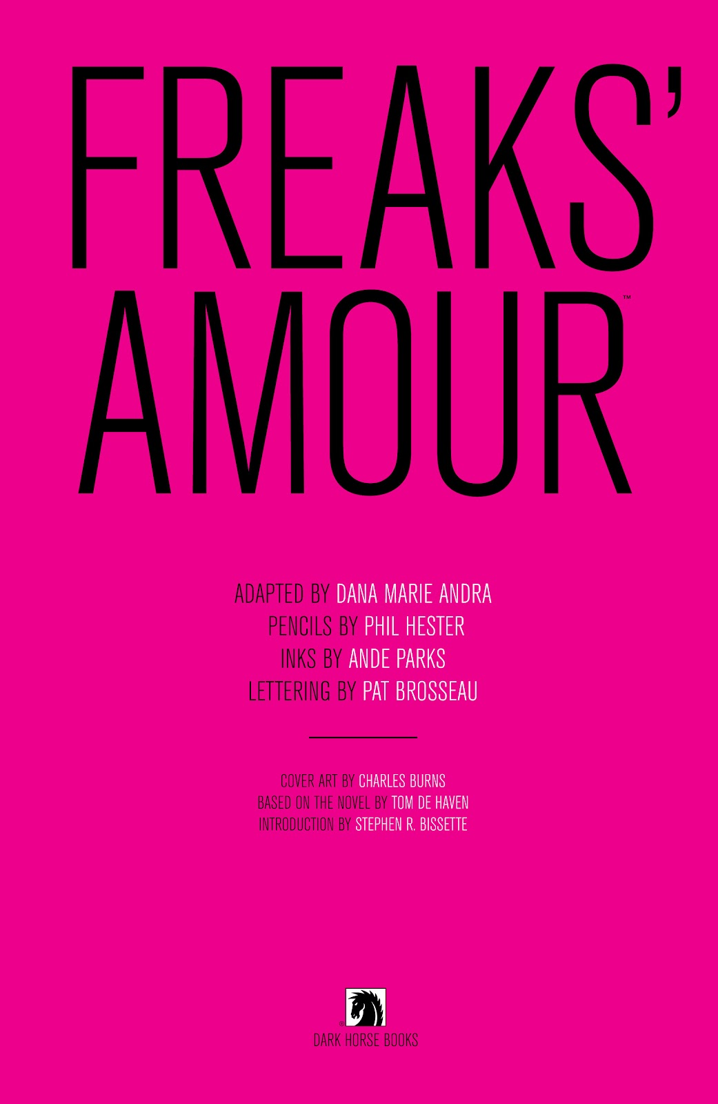 Read online Freaks' Amour comic -  Issue # TPB (Part 1) - 4