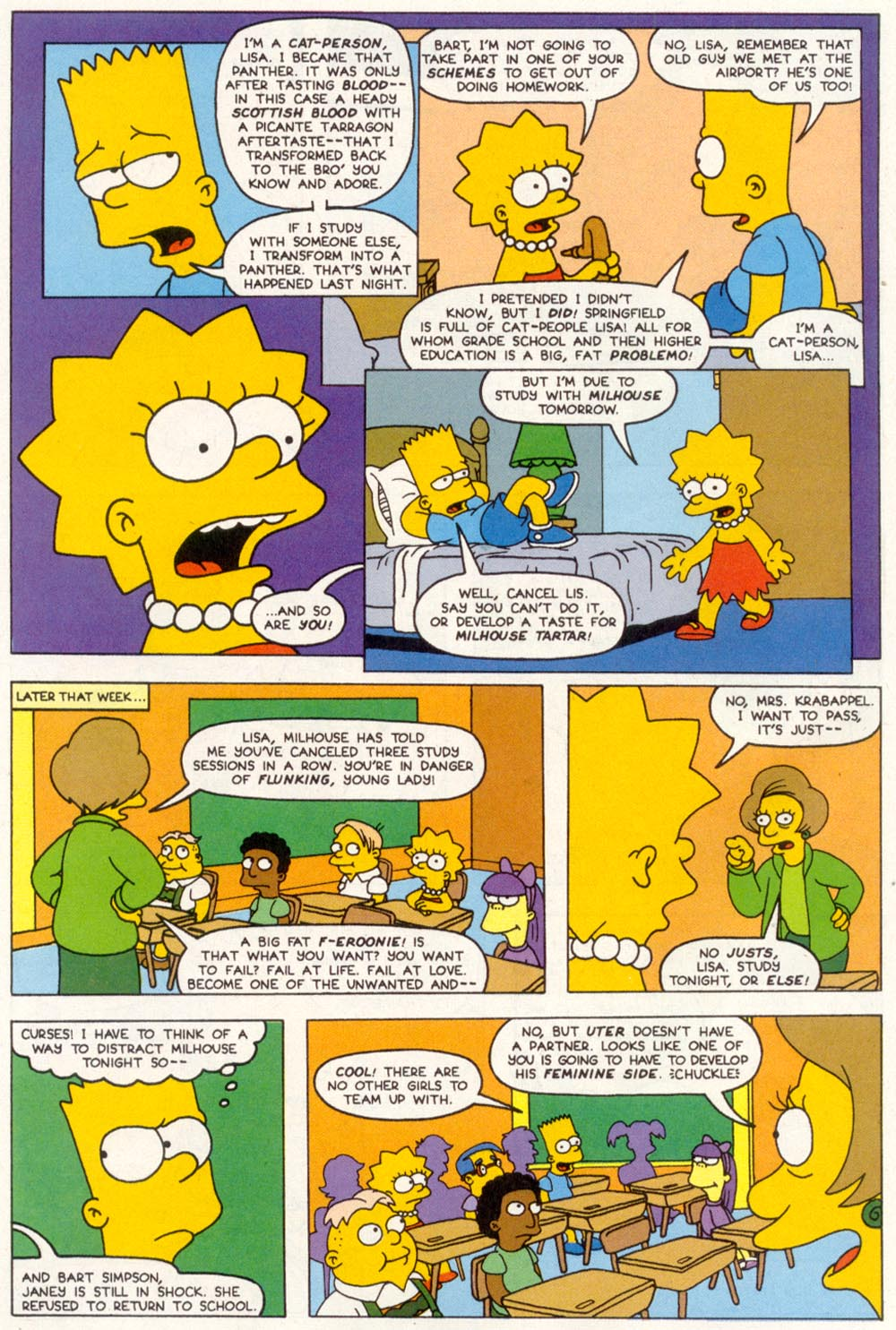 Read online Treehouse of Horror comic -  Issue #1 - 42
