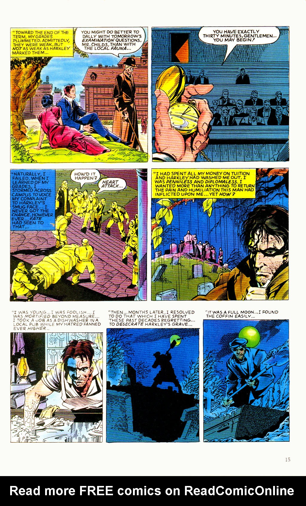 Read online Twisted Tales (1982) comic -  Issue #8 - 17