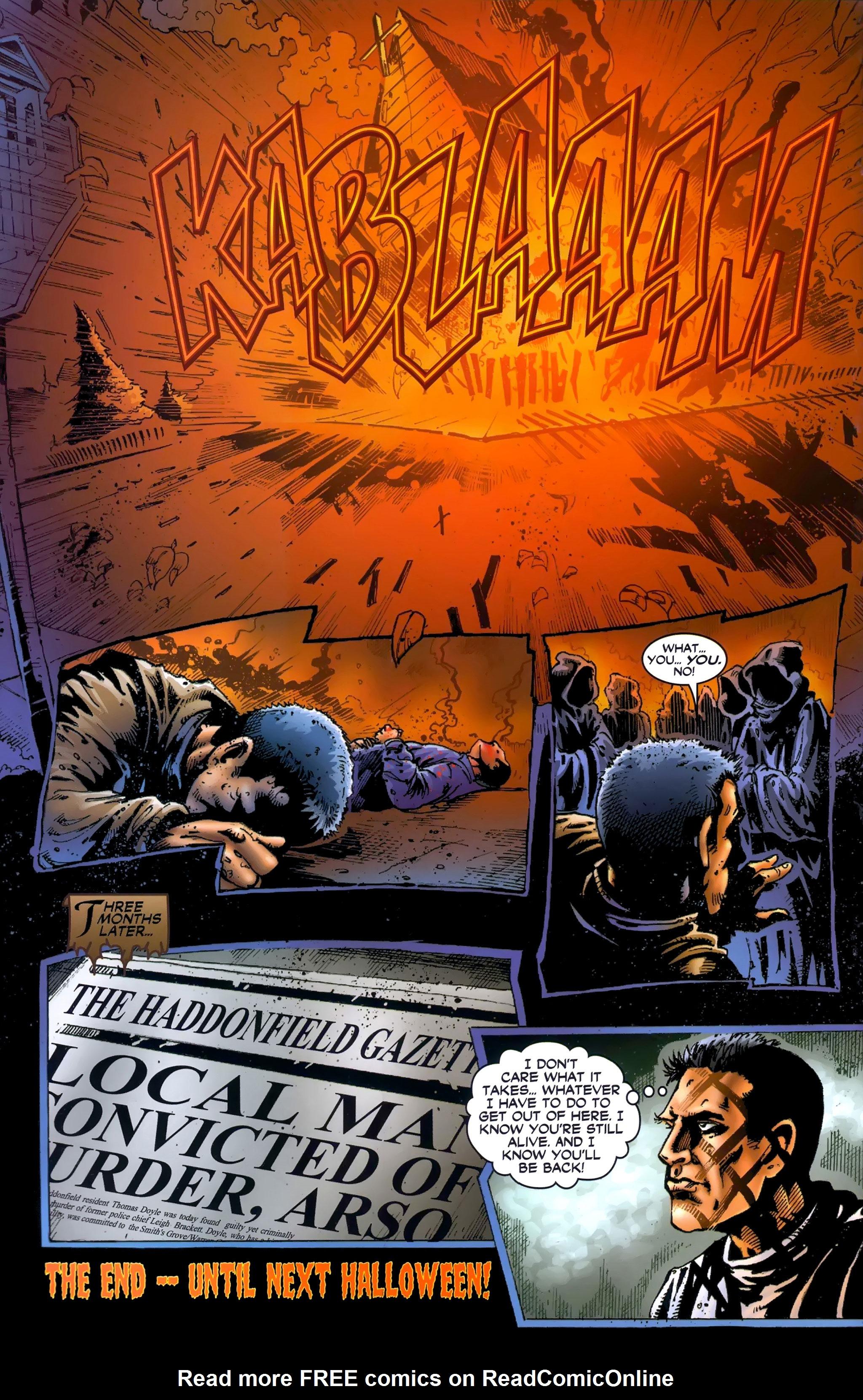 Read online Halloween II: The Blackest Eyes comic -  Issue # Full - 24