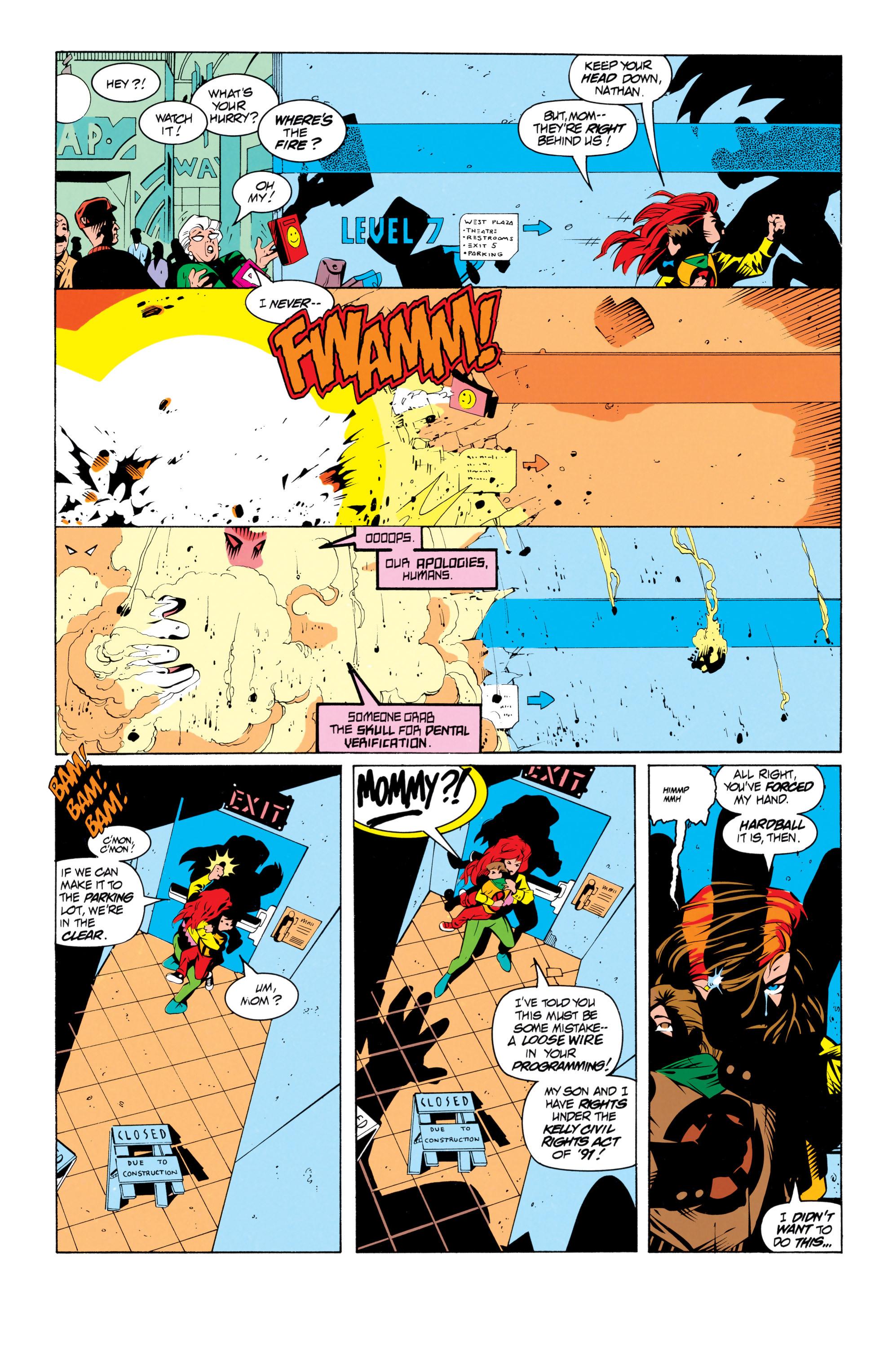 Read online Uncanny X-Men (1963) comic -  Issue # _Annual 17 - 8