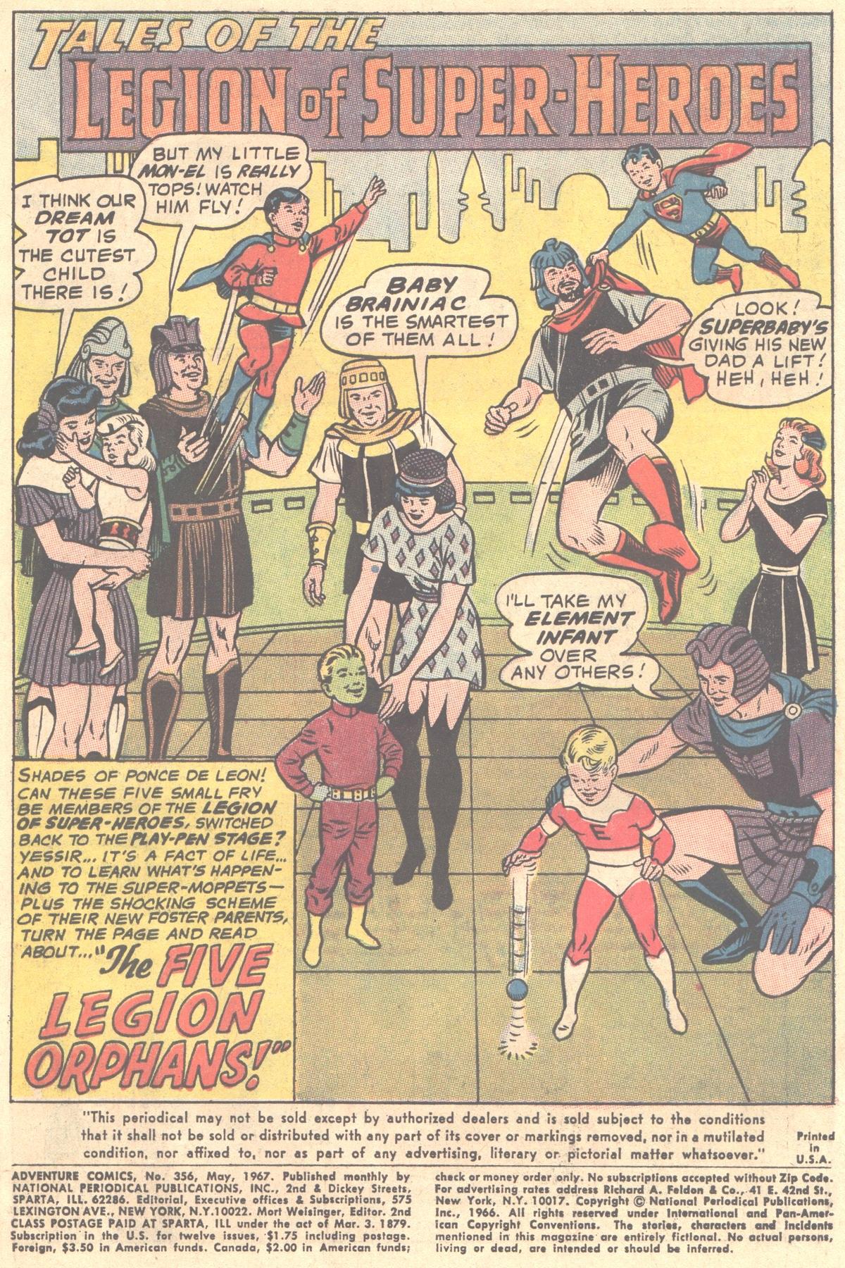 Read online Adventure Comics (1938) comic -  Issue #356 - 3