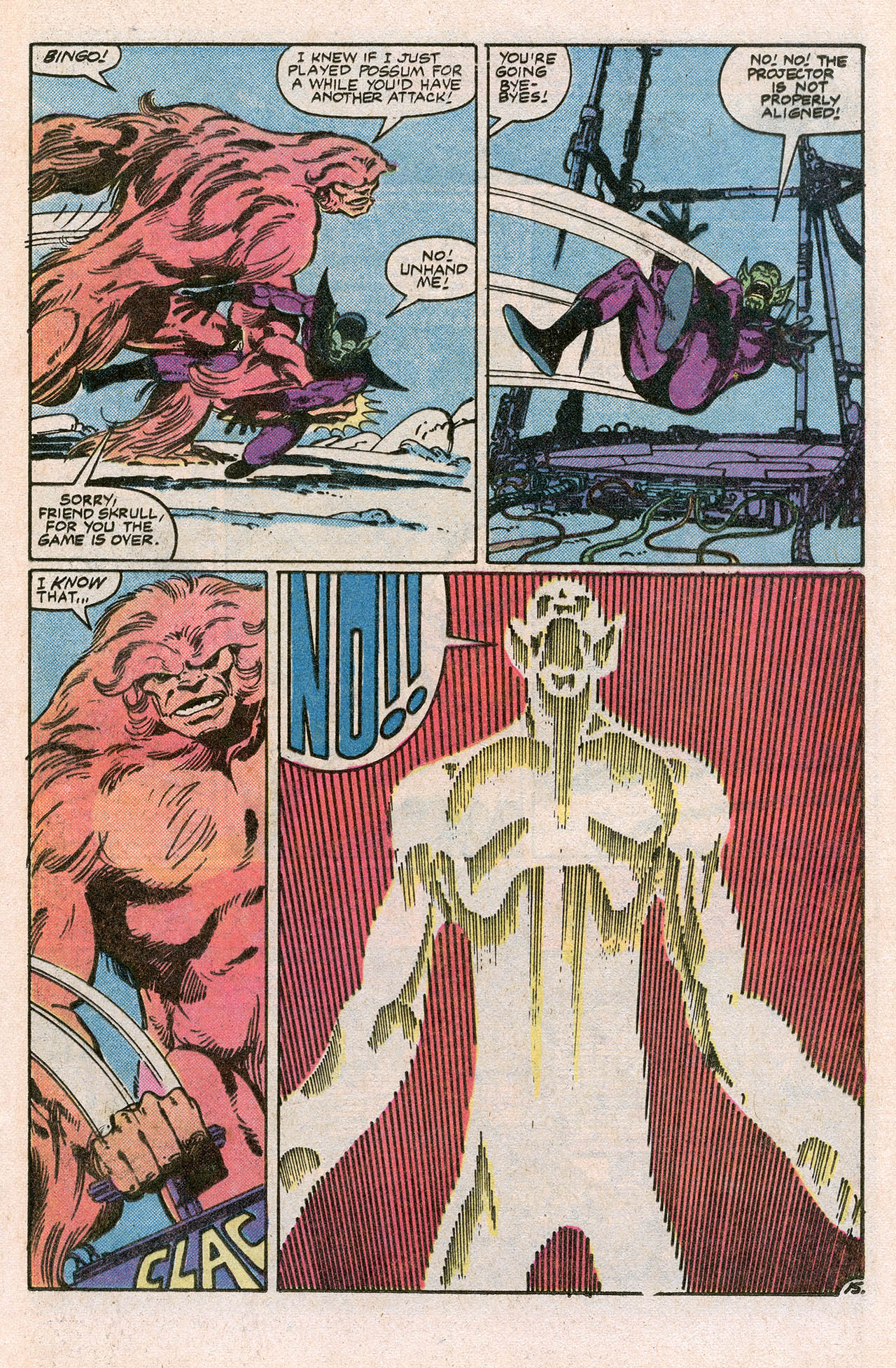 Read online Alpha Flight (1983) comic -  Issue #10 - 21