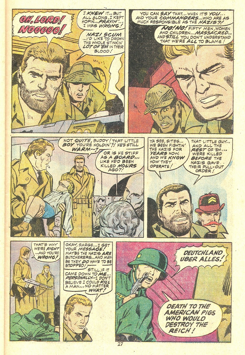 Read online Sgt. Fury comic -  Issue #110 - 29