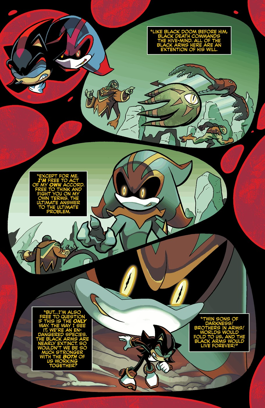 Read online Sonic Universe comic -  Issue #60 - 12