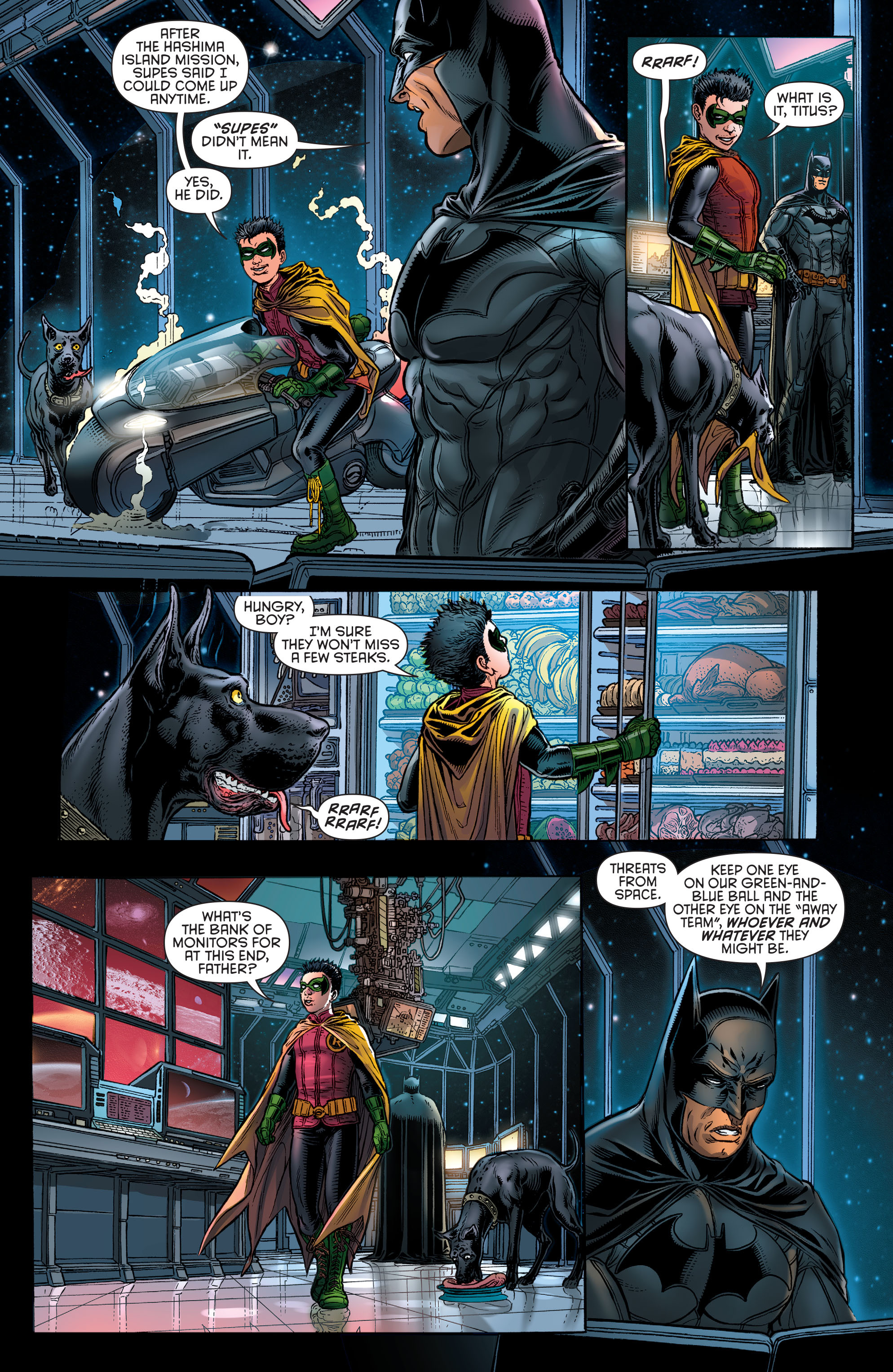 Read online Batman and Robin (2011) comic -  Issue # Annual 3 - 6