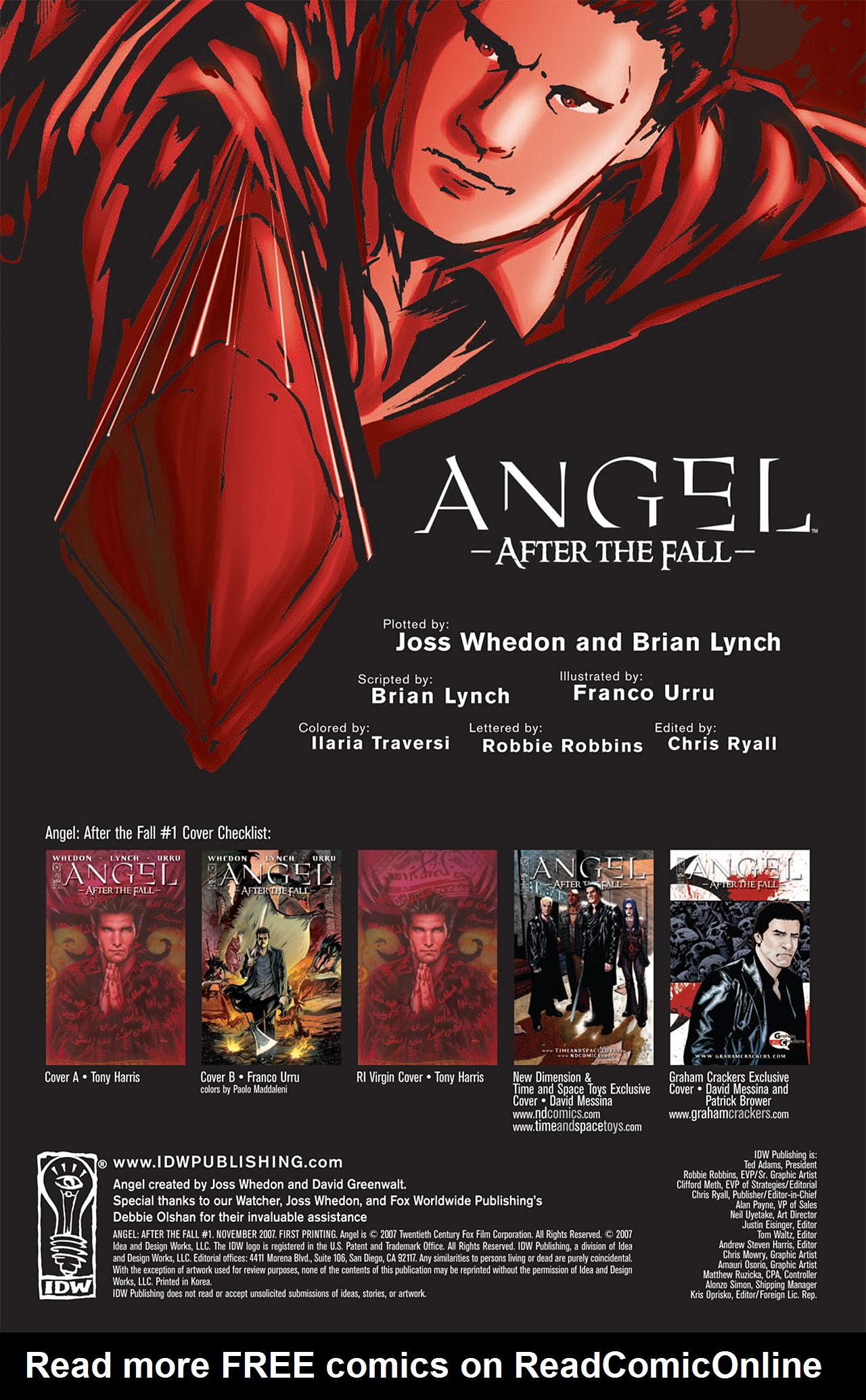 Read online Angel: After The Fall comic -  Issue #1 - 3