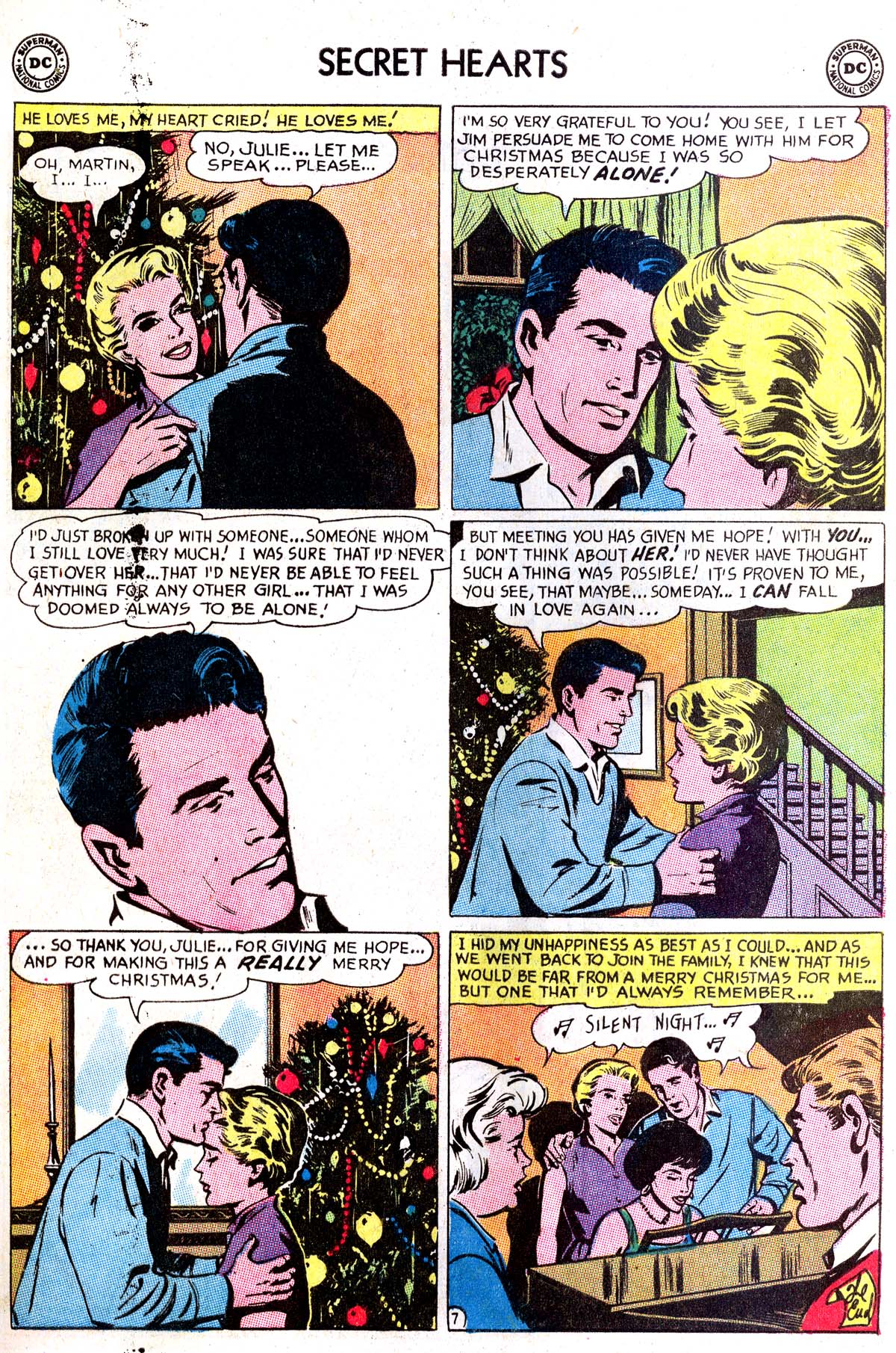 Read online Secret Hearts comic -  Issue #87 - 25