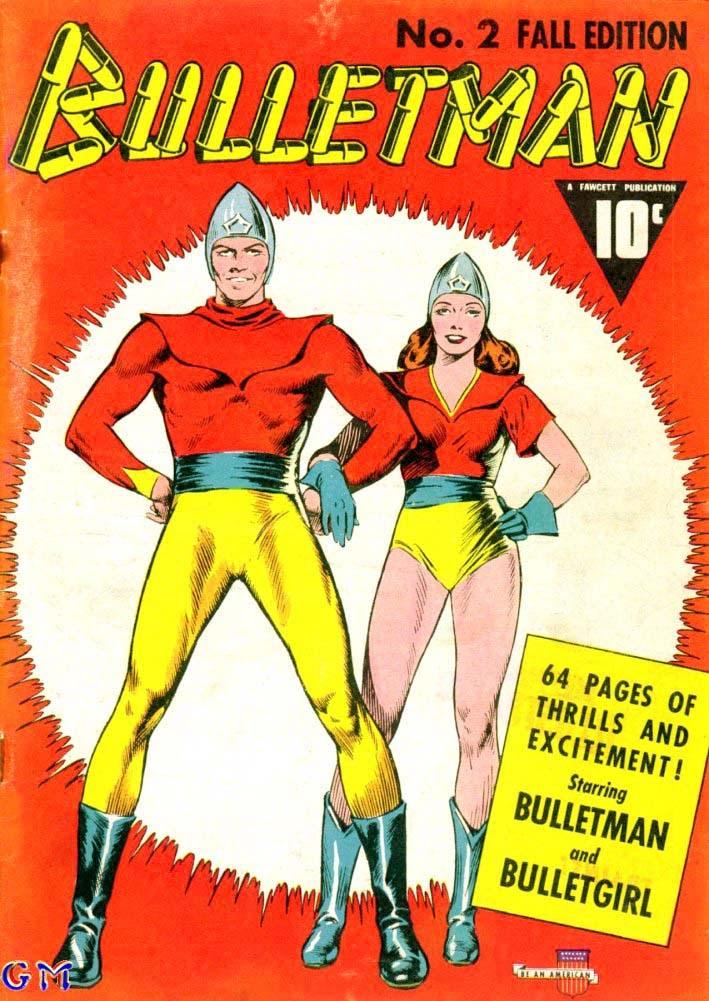 Bulletman 2 Page 1