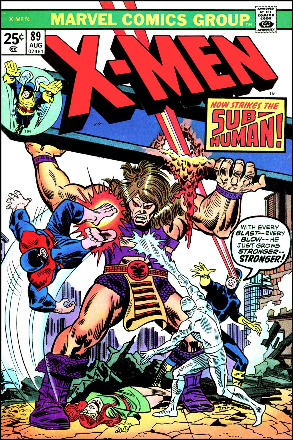 Uncanny X-Men (1963) 89 Page 1