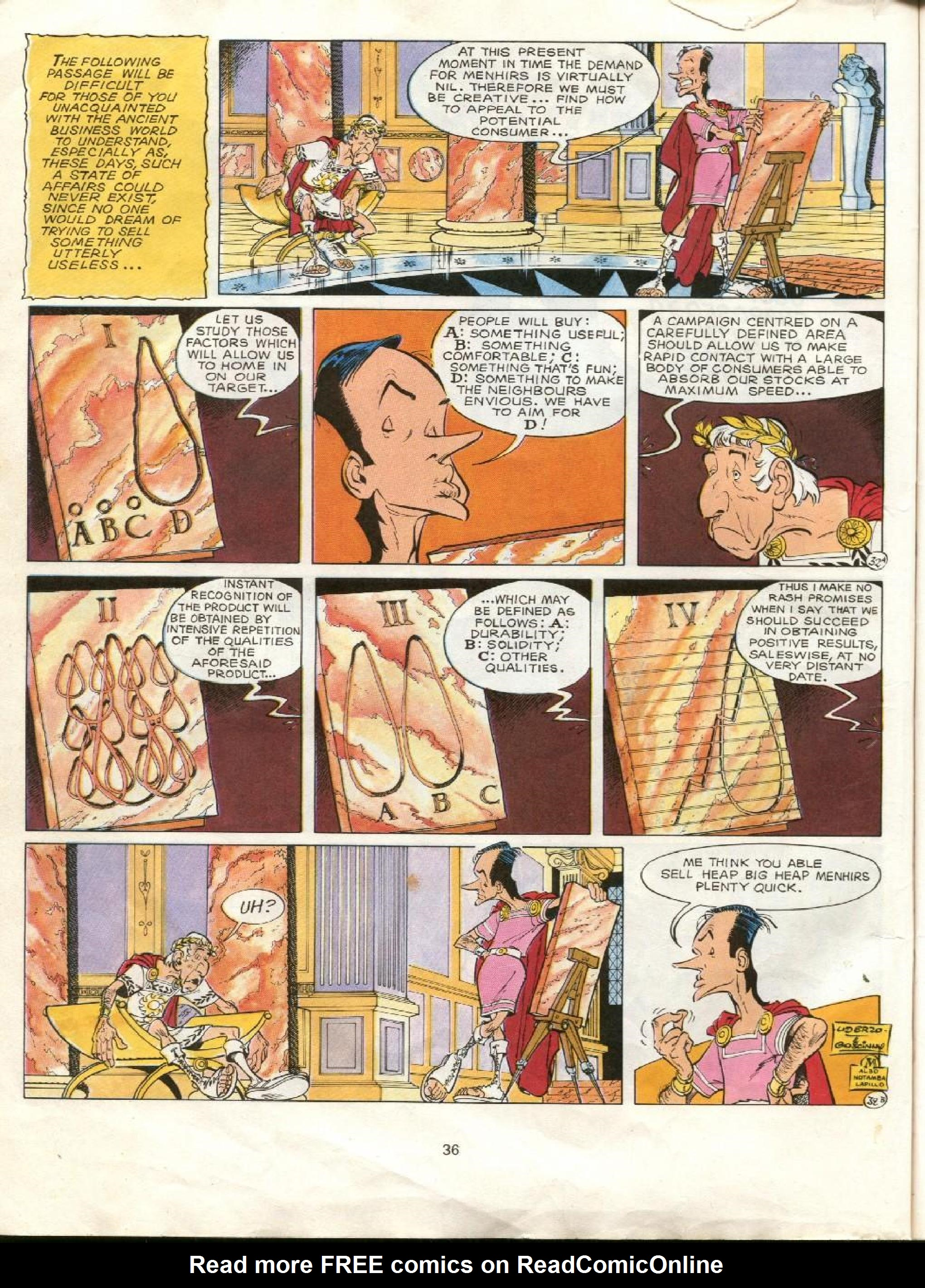 Read online Asterix comic -  Issue #23 - 33