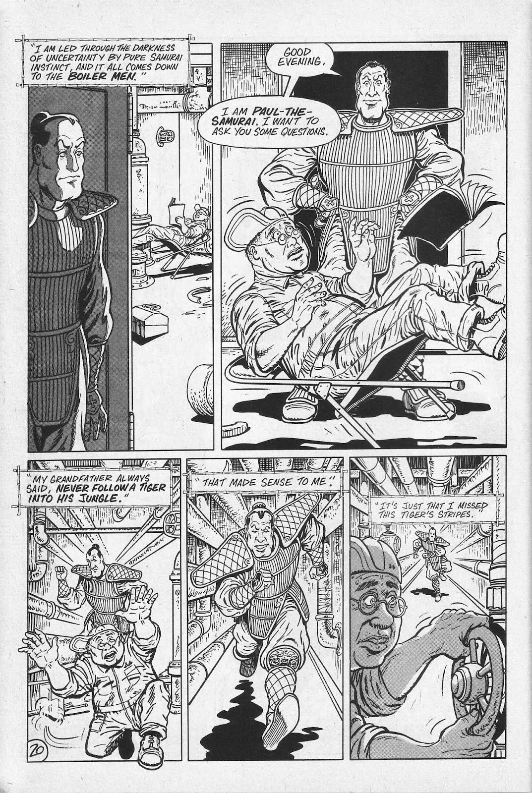 Read online Paul the Samurai (1991) comic -  Issue # TPB - 26