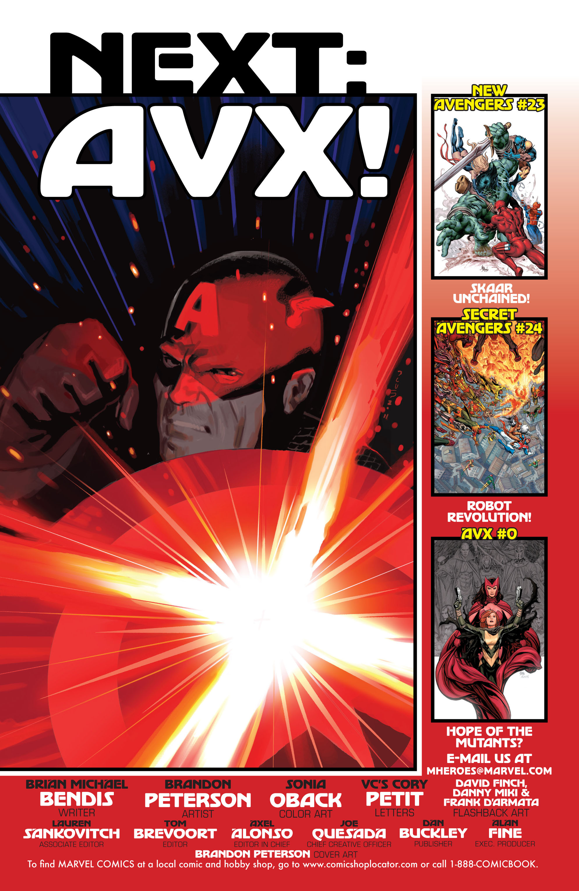 Read online Avengers (2010) comic -  Issue #24.1 - 22
