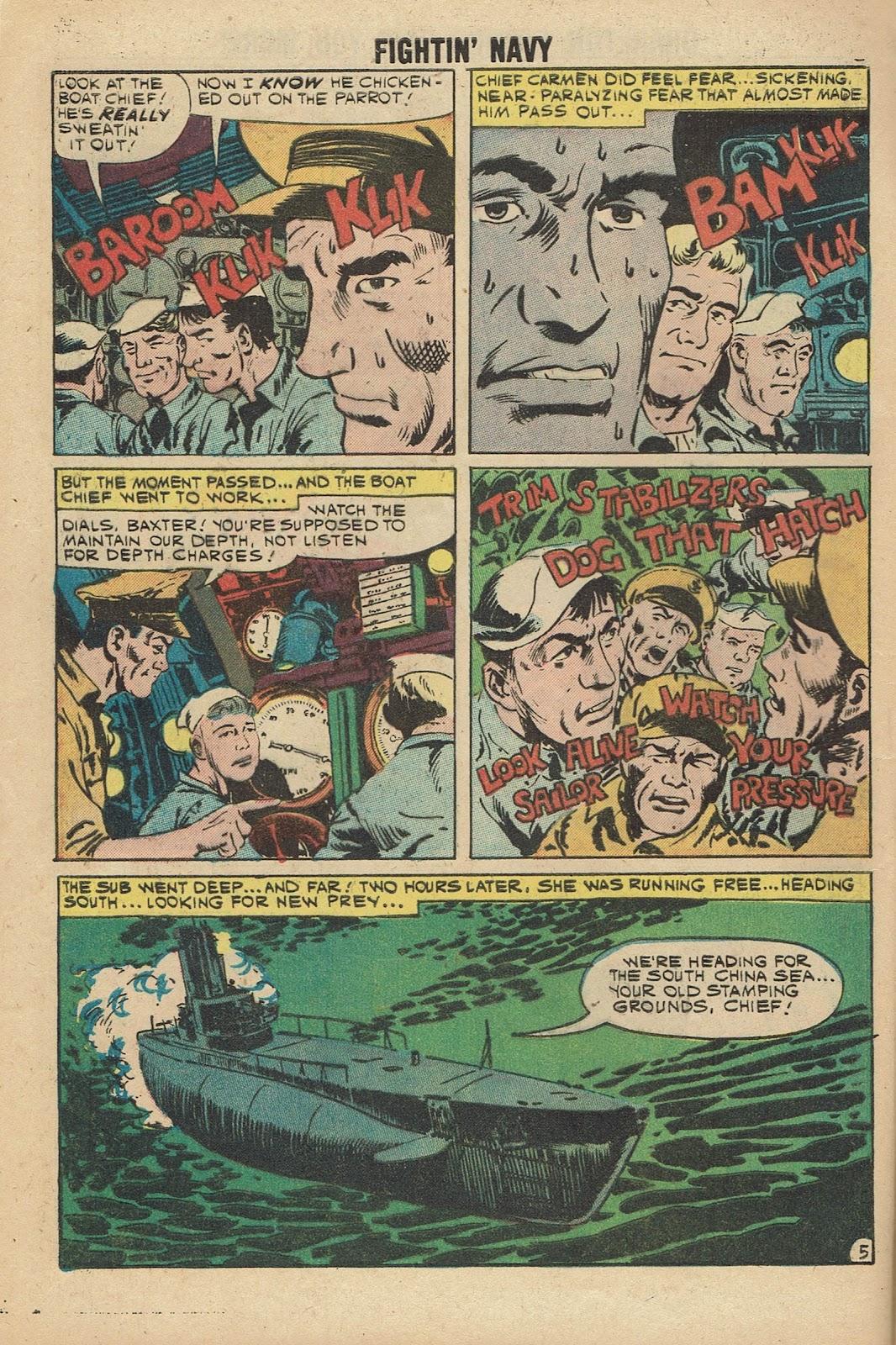 Read online Fightin' Navy comic -  Issue #96 - 8
