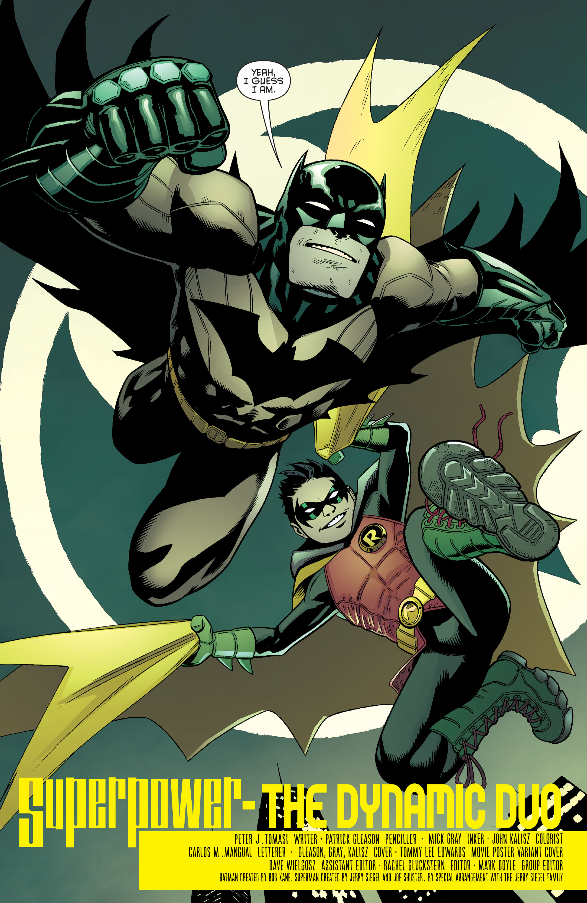 Read online Batman and Robin (2011) comic -  Issue #40 - 18