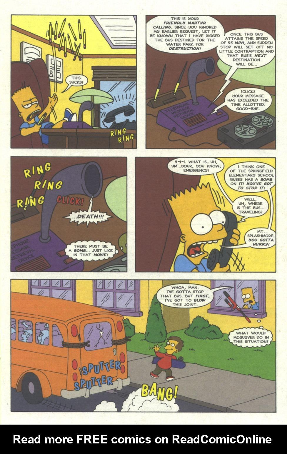 Read online Simpsons Comics comic -  Issue #26 - 8