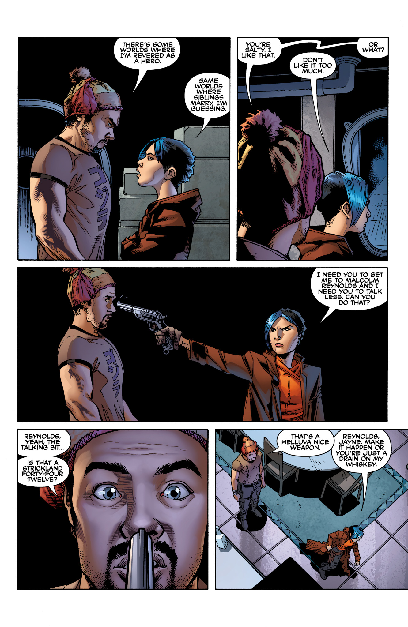 Read online Serenity: Firefly Class 03-K64  Leaves on the Wind comic -  Issue #2 - 5