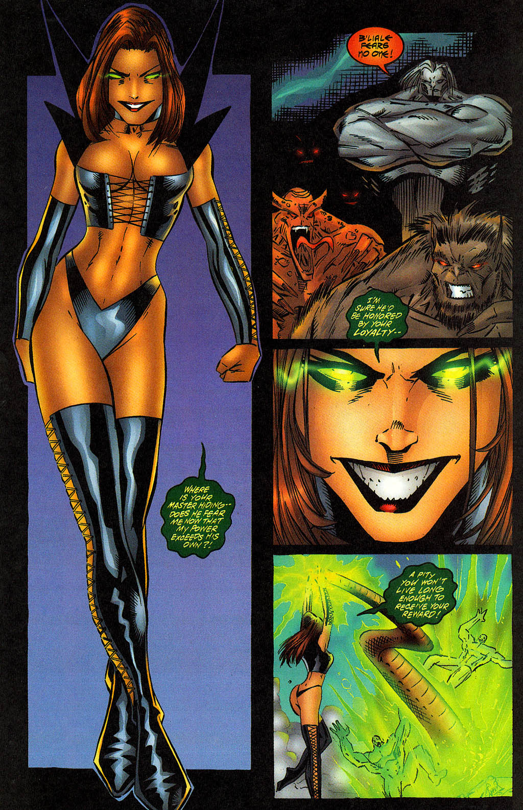 Read online Avengelyne (1996) comic -  Issue #12 - 13