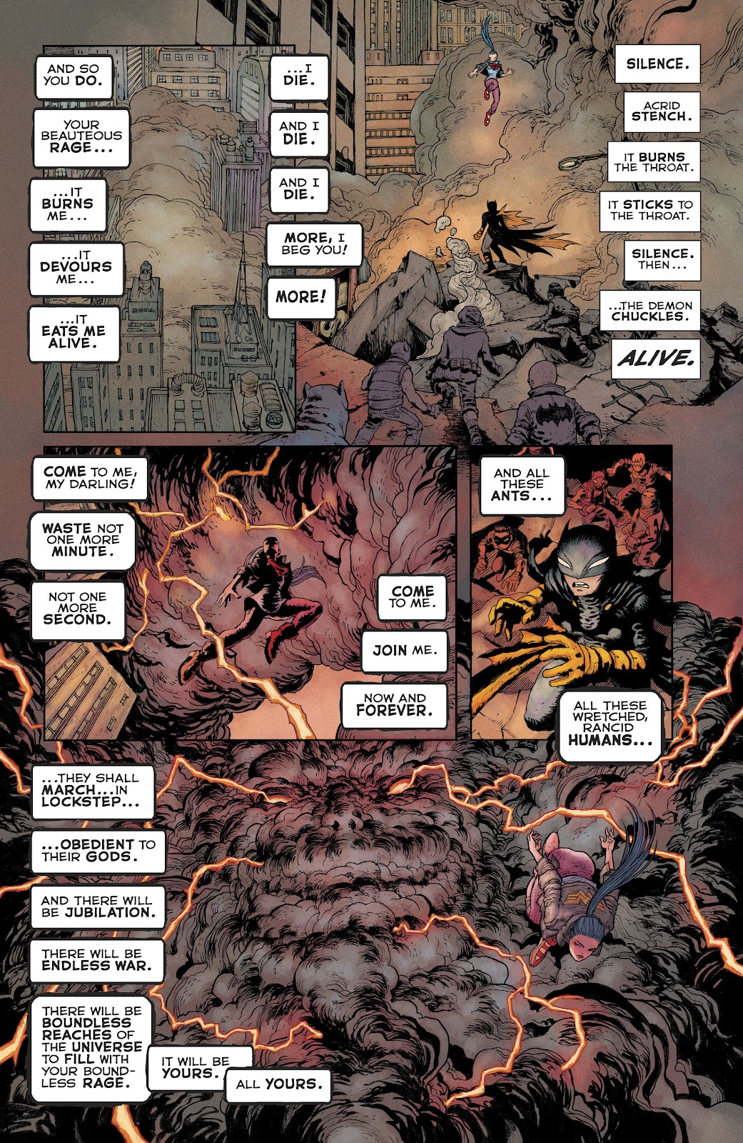 Dark Knight Returns: The Golden Child issue Full - Page 20