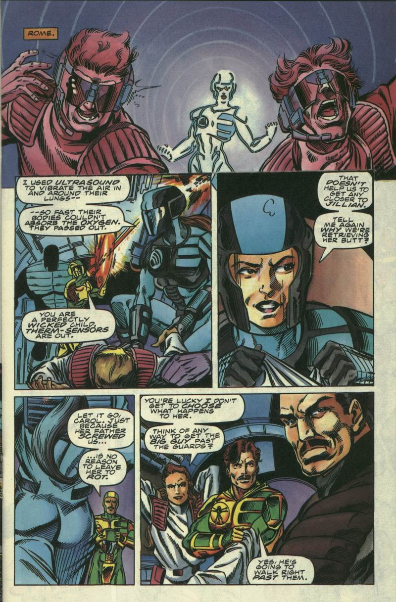 Read online Secret Weapons comic -  Issue #17 - 6