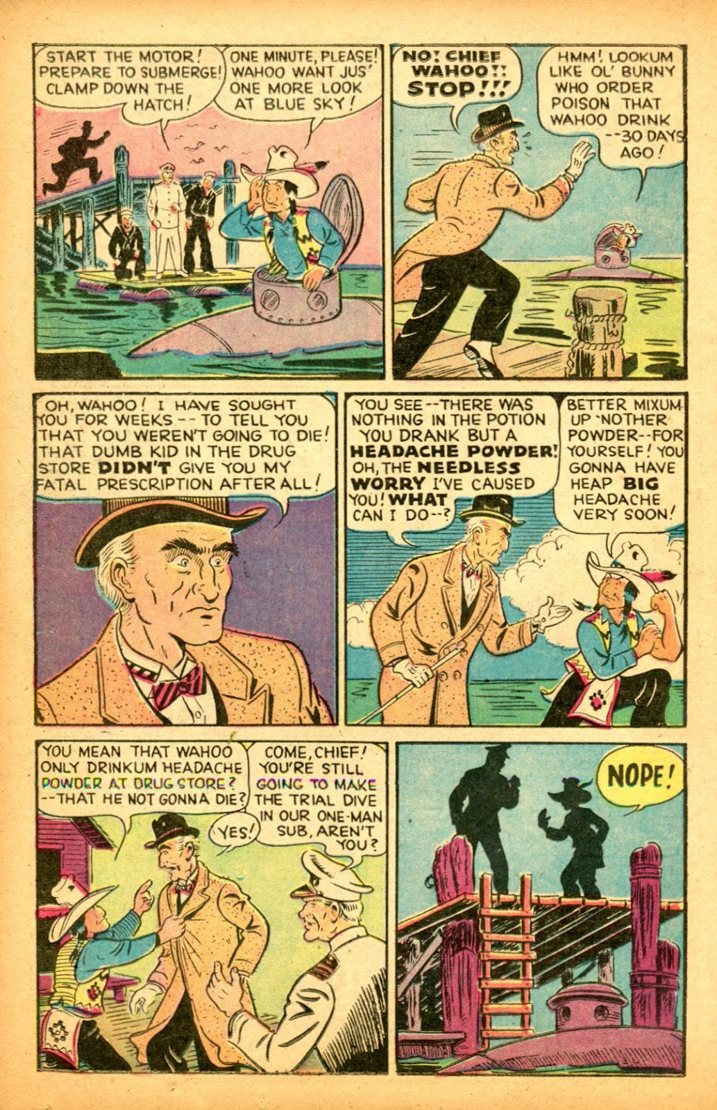 Read online Famous Funnies comic -  Issue #151 - 16