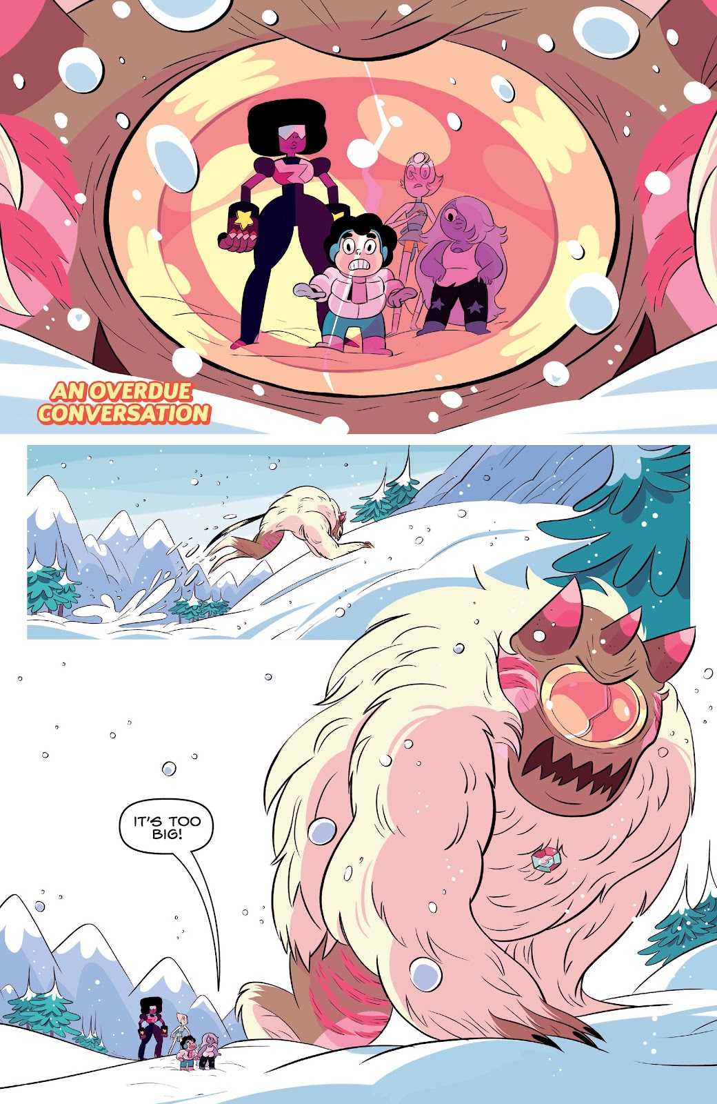 Read online Steven Universe: Fusion Frenzy comic -  Issue # Full - 34