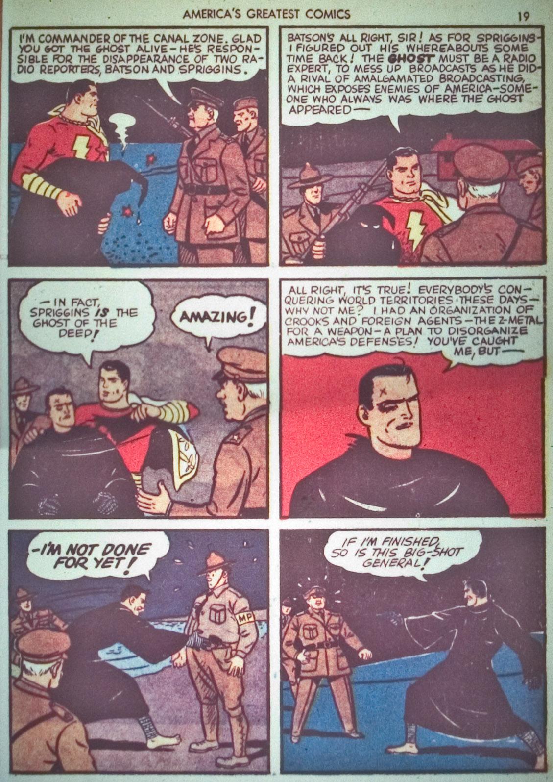 Read online America's Greatest Comics comic -  Issue #1 - 22