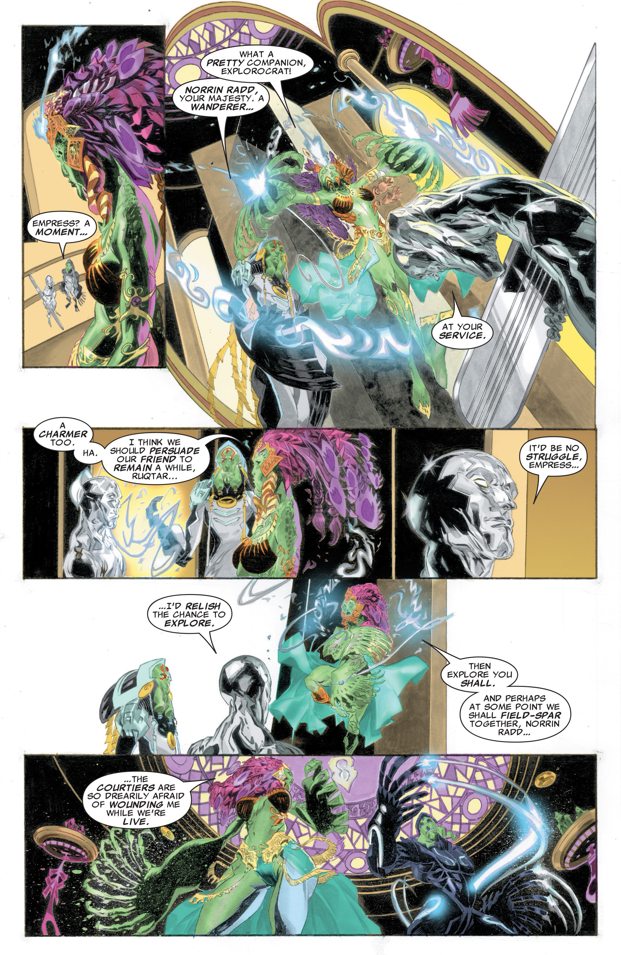 Read online Silver Surfer: In Thy Name comic -  Issue #1 - 14