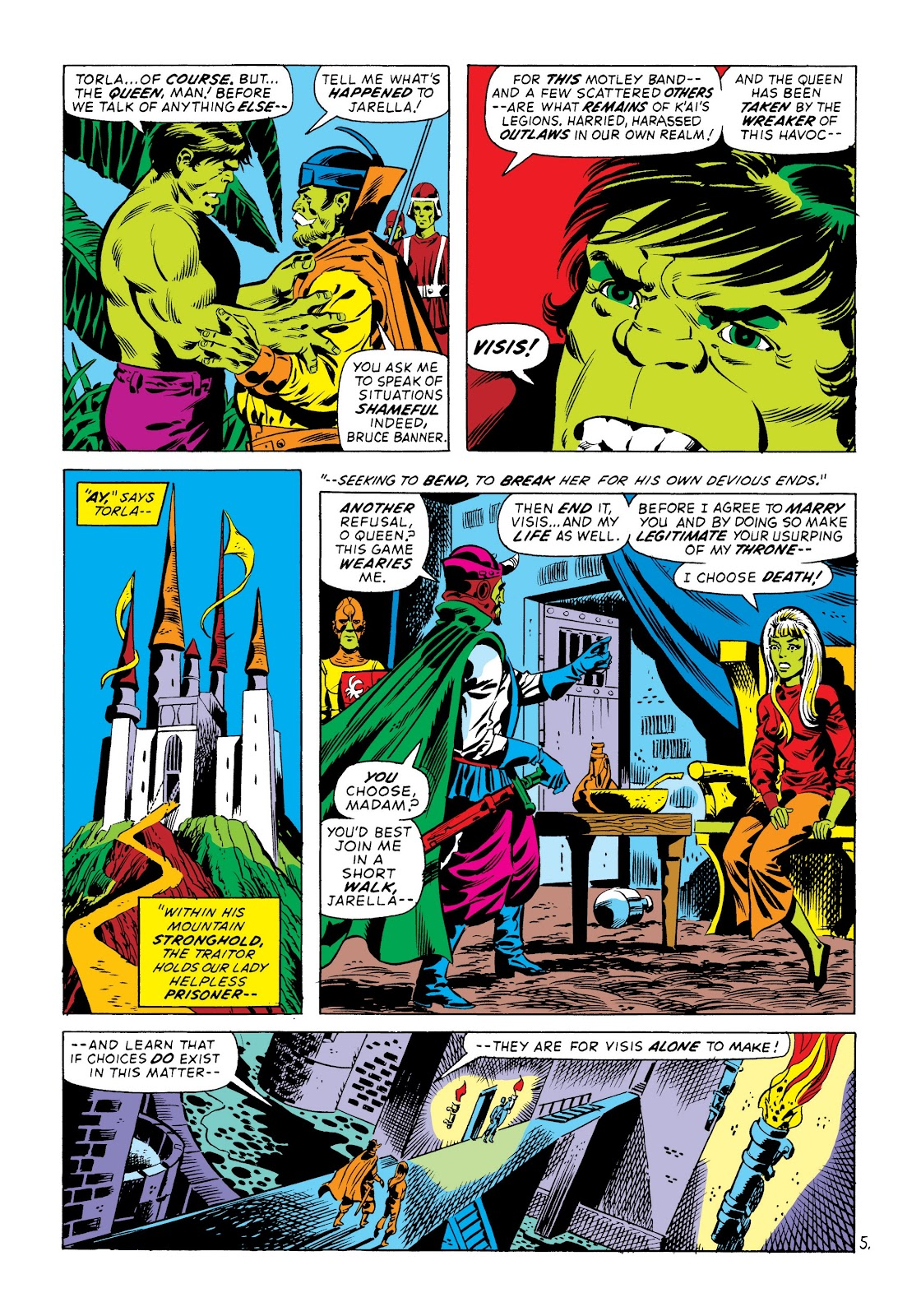 Read online Marvel Masterworks: The Incredible Hulk comic -  Issue # TPB 8 (Part 3) - 66