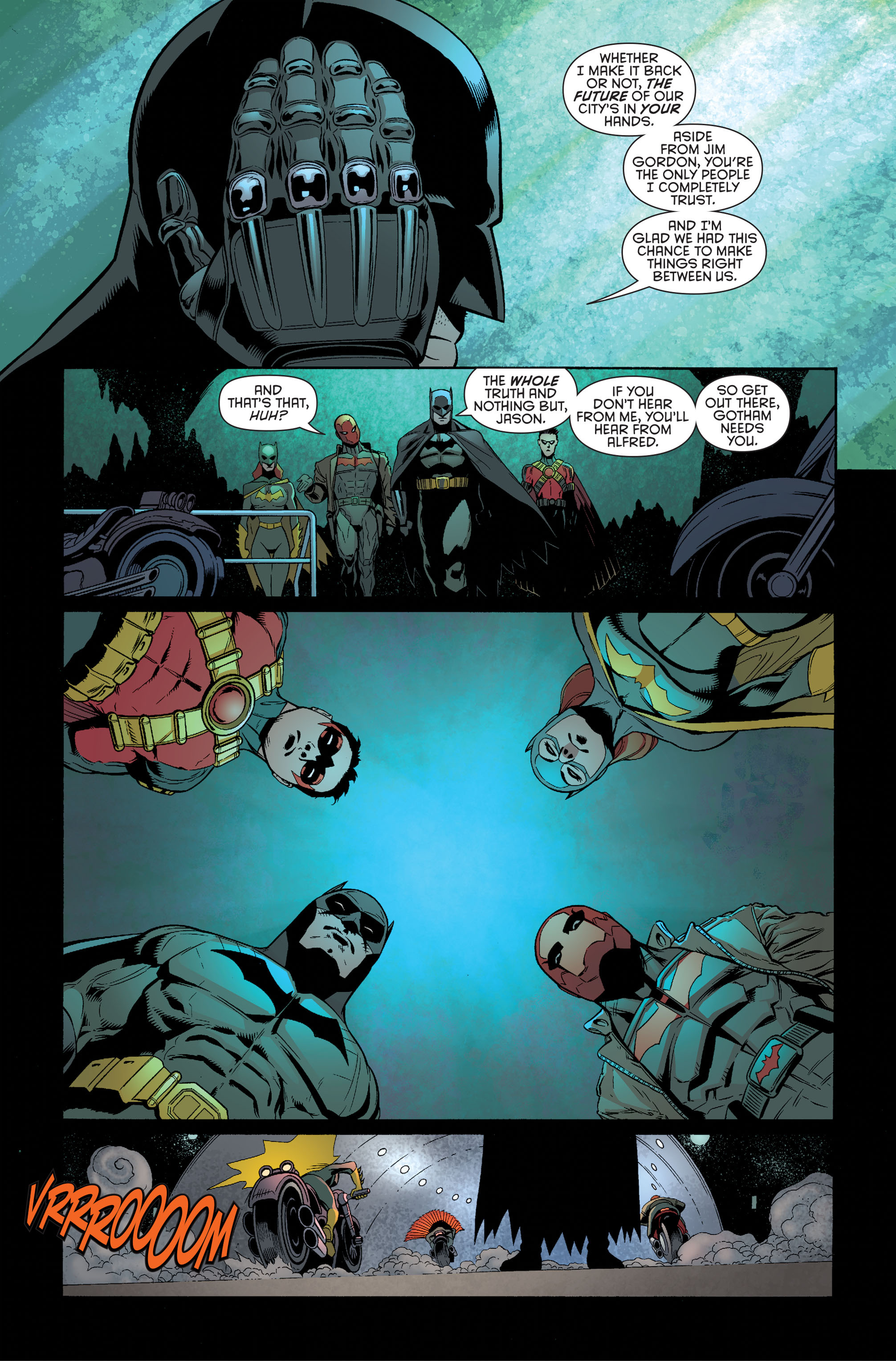 Read online Batman and Robin (2011) comic -  Issue #34 - 12