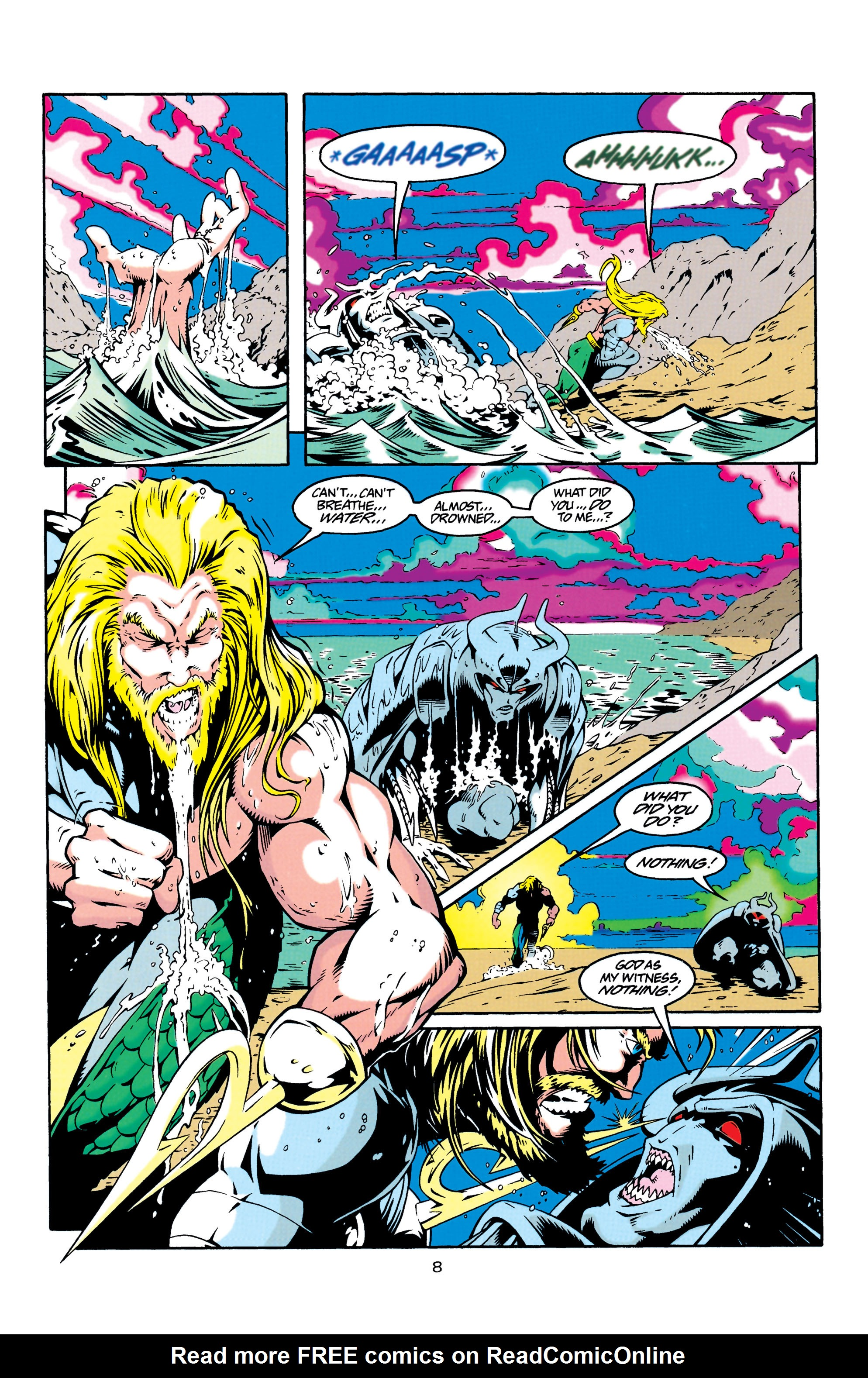 Read online Aquaman (1994) comic -  Issue #30 - 8