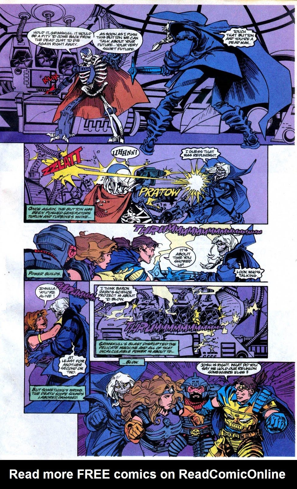 Skeleton Warriors Issue #4 #4 - English 22