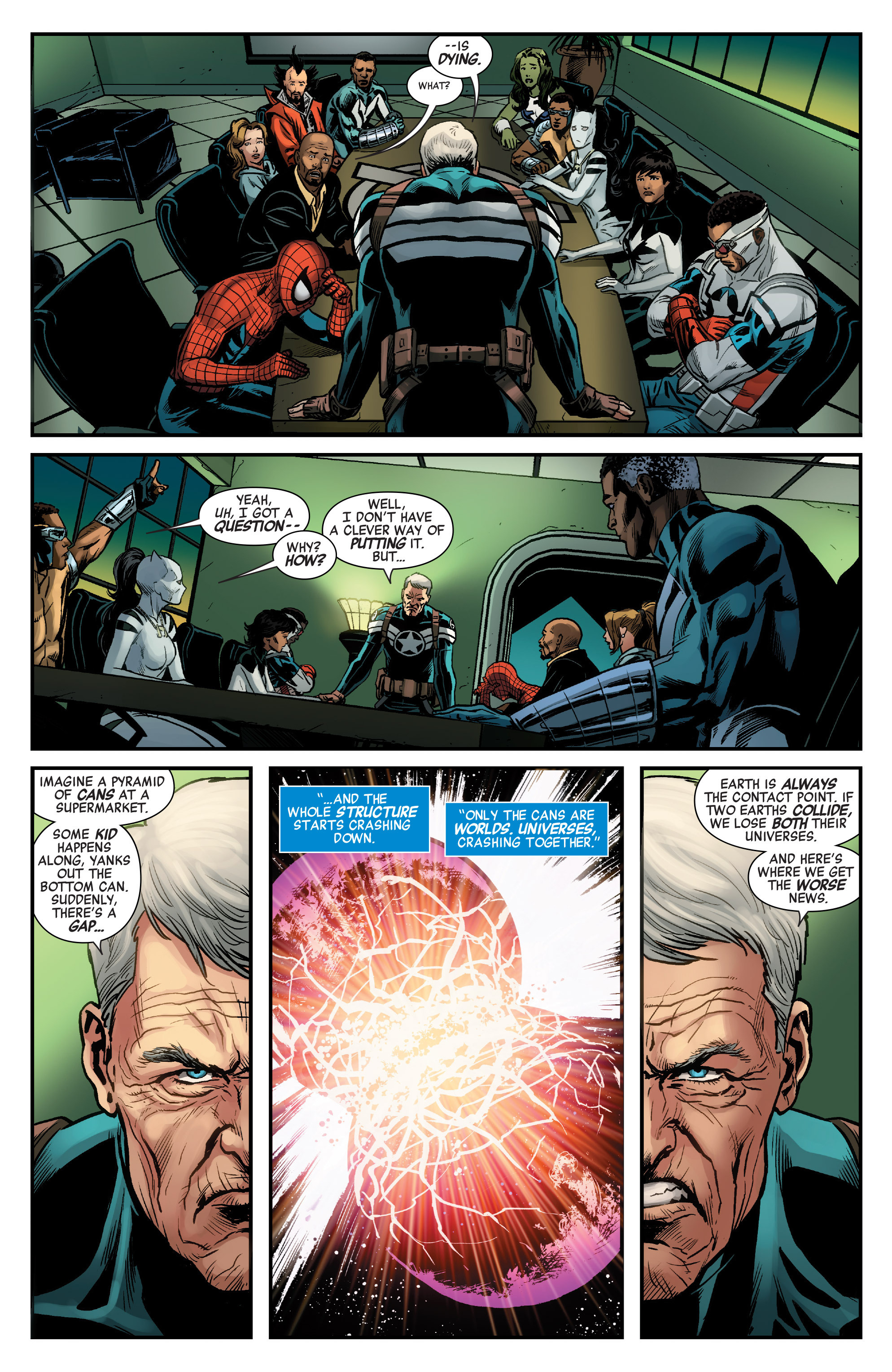 Read online Secret Wars: Last Days of the Marvel Universe comic -  Issue # TPB (Part 1) - 7