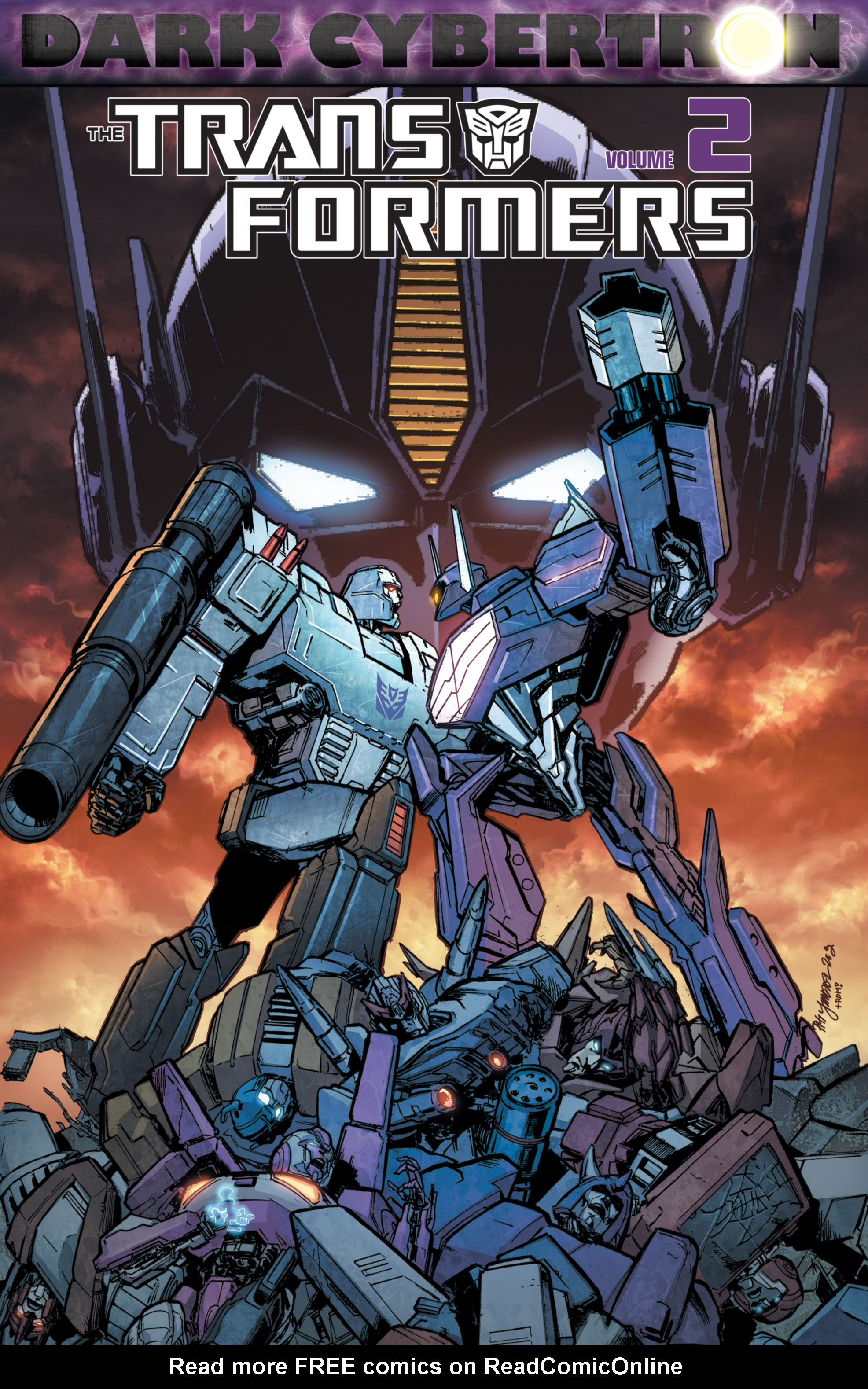 The Transformers: Dark Cybertron Finale Full Page 1