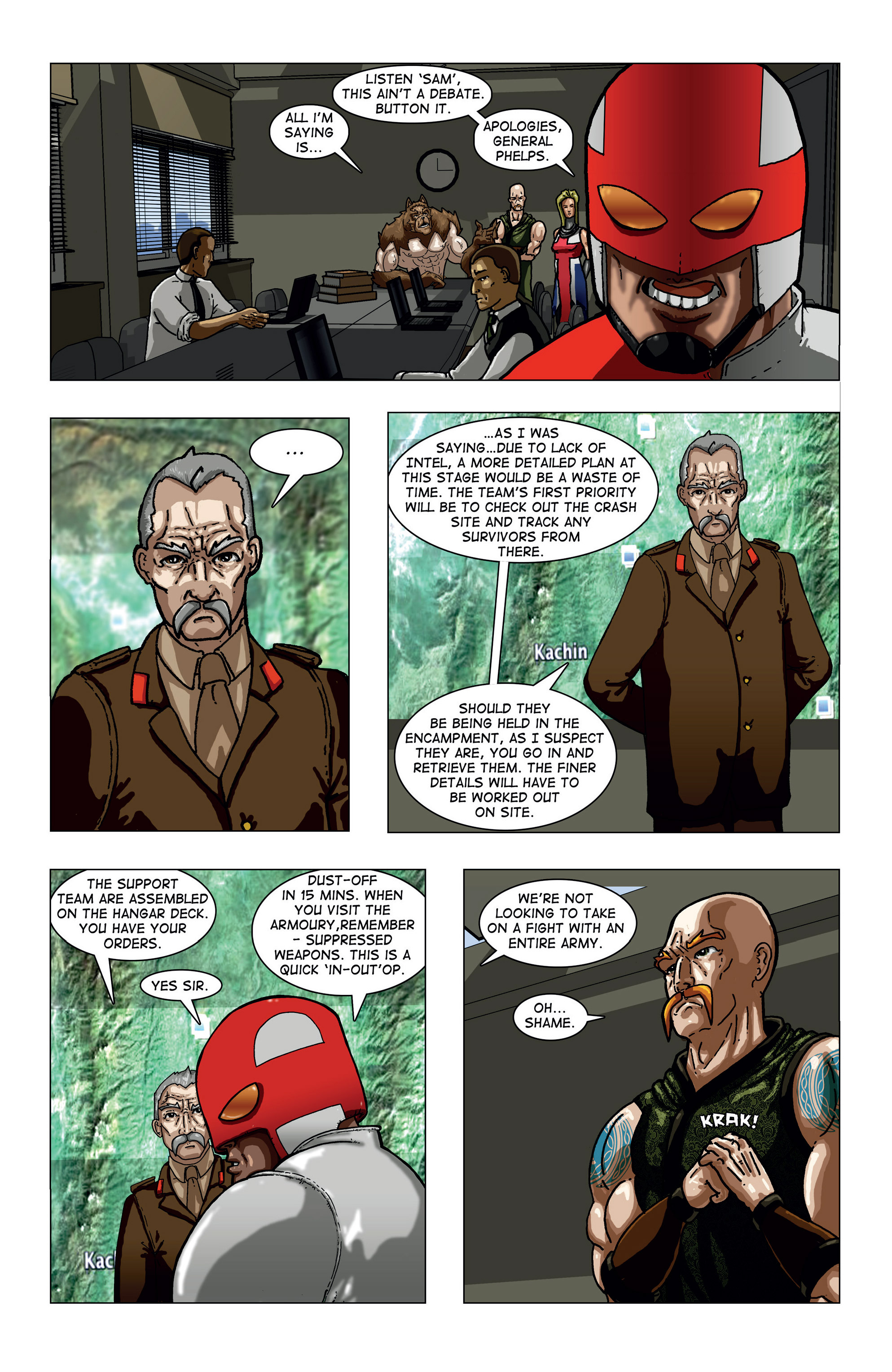 Read online Vanguard (2015) comic -  Issue #1 - 16
