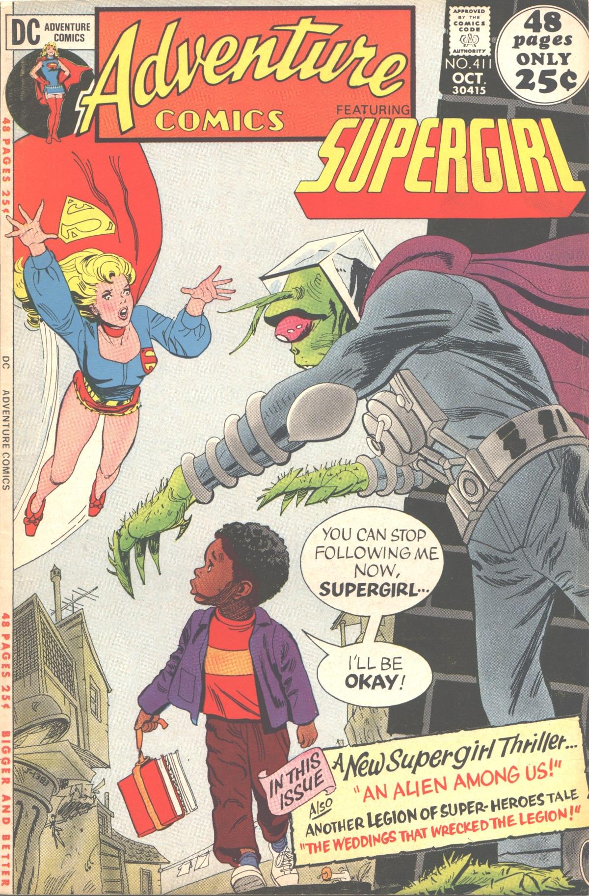 Read online Adventure Comics (1938) comic -  Issue #411 - 1