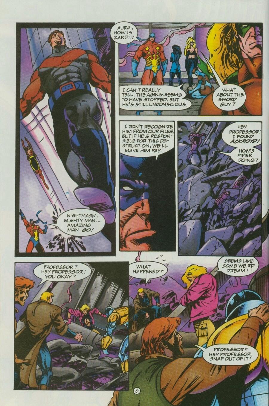 Read online Ex-Mutants comic -  Issue #12 - 9