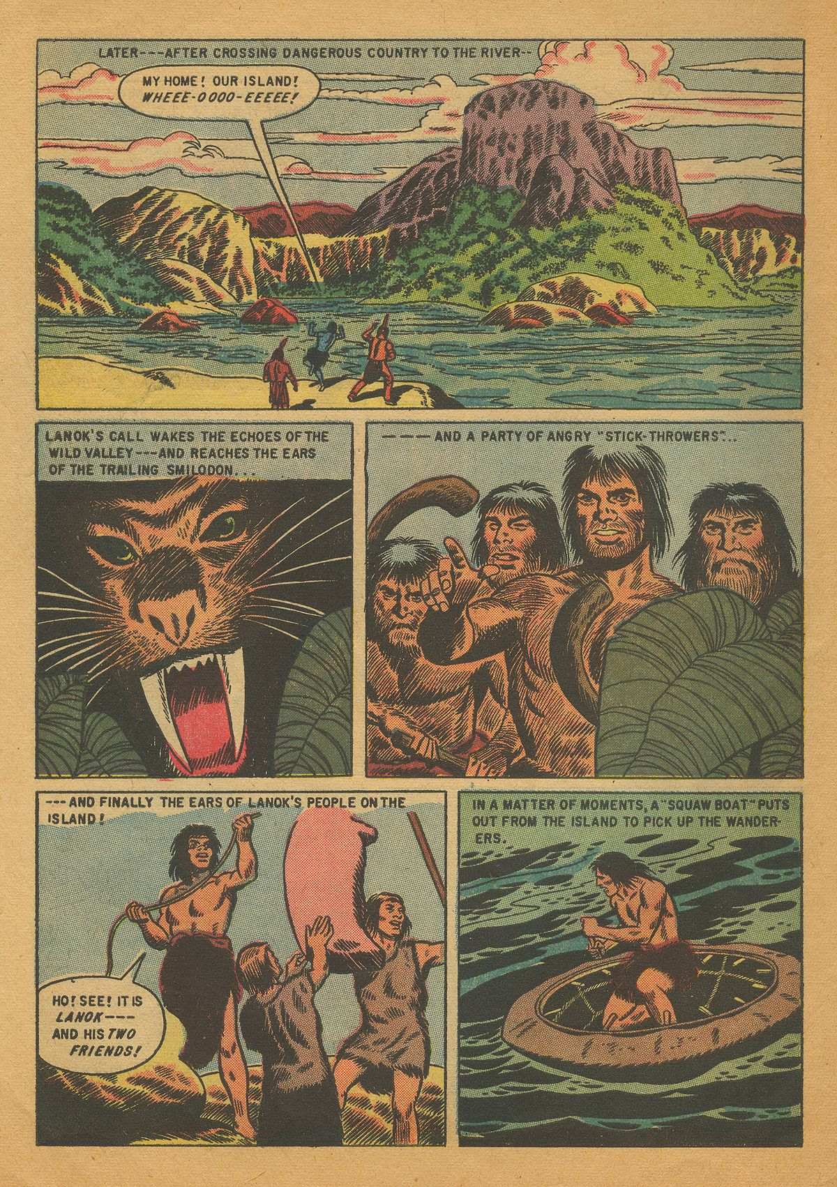 Read online Turok, Son of Stone comic -  Issue #4 - 30