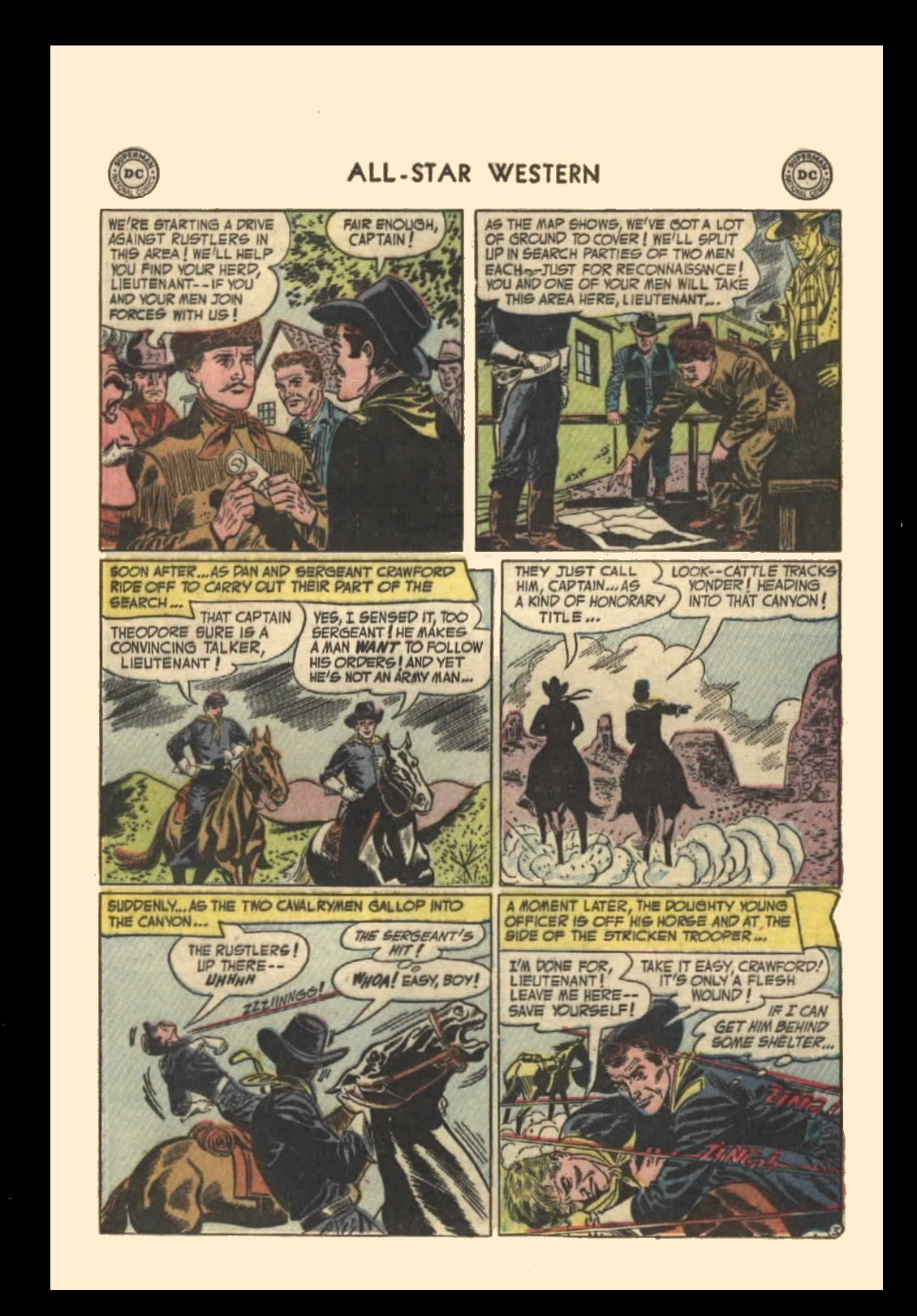 Read online All-Star Western (1951) comic -  Issue #72 - 21