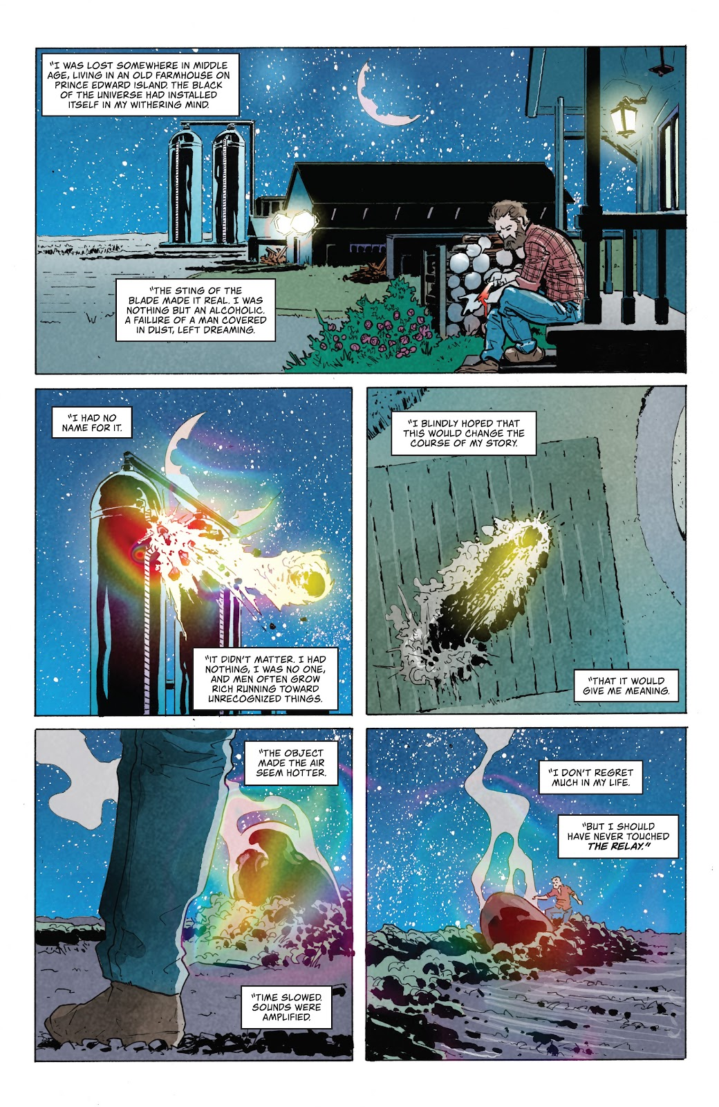 Read online Relay comic -  Issue #5 - 3