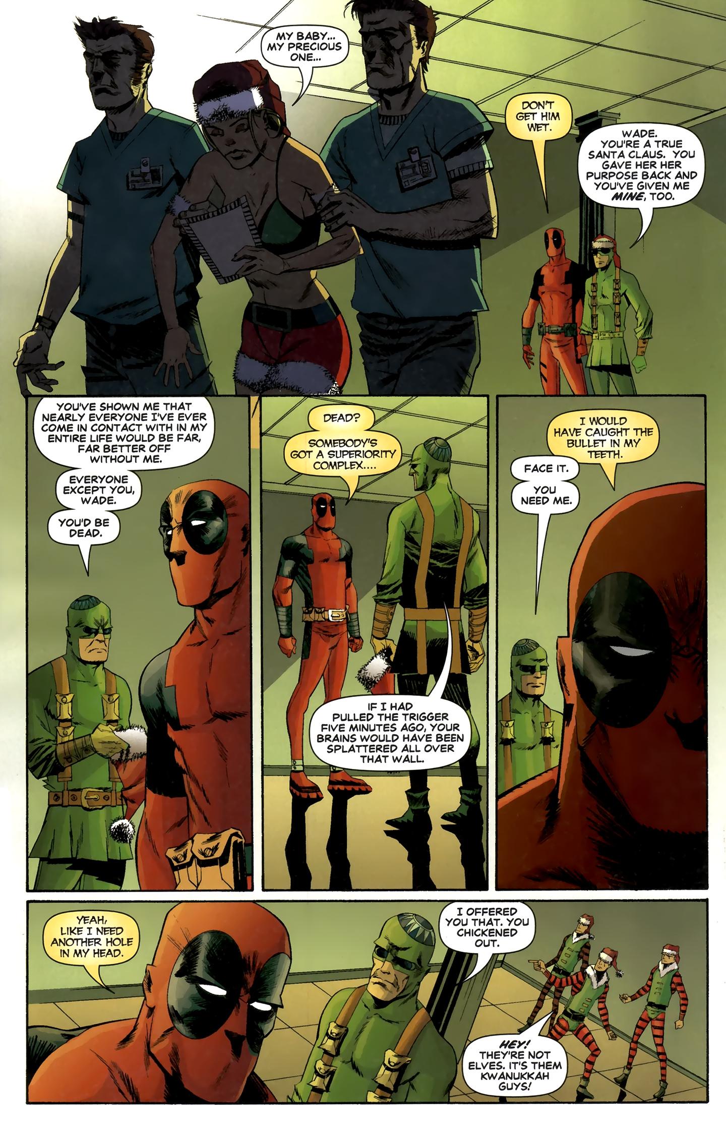 Read online Deadpool MAX X-Mas Special comic -  Issue # Full - 31