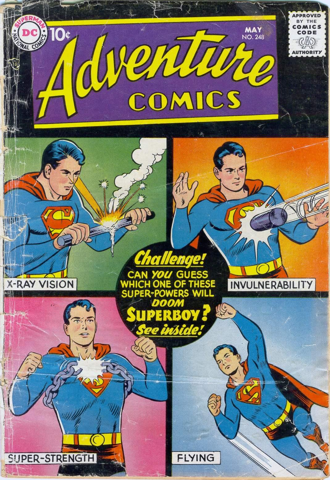 Read online Adventure Comics (1938) comic -  Issue #248 - 1