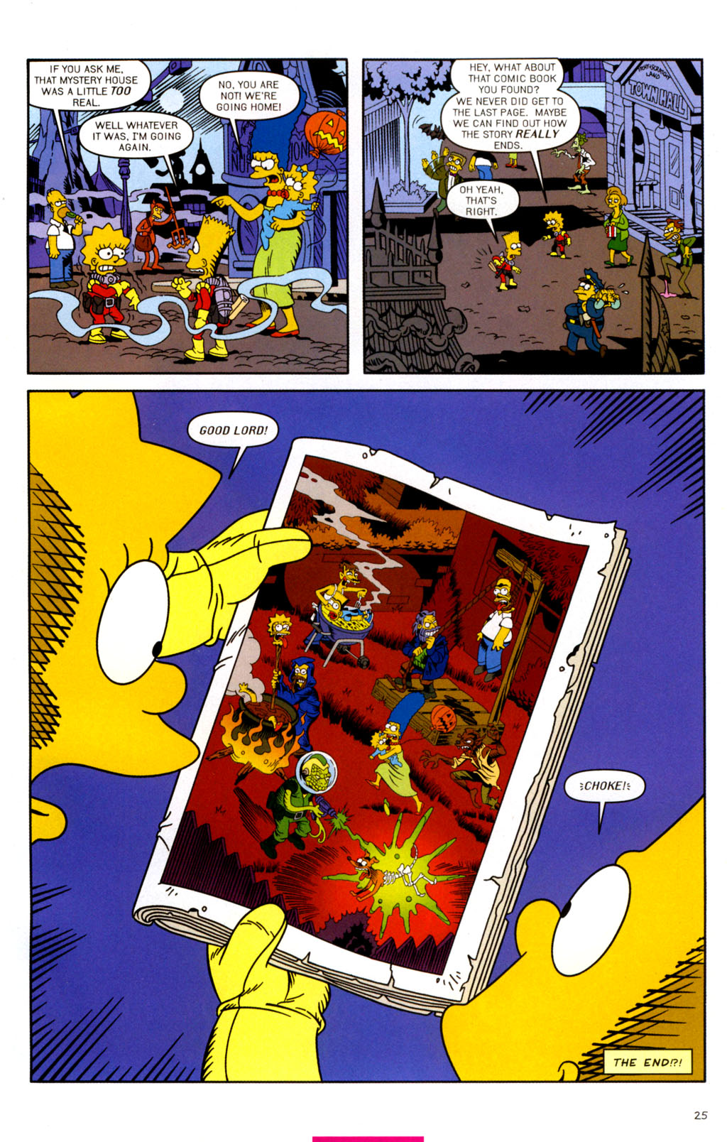 Read online Treehouse of Horror comic -  Issue #11 - 56