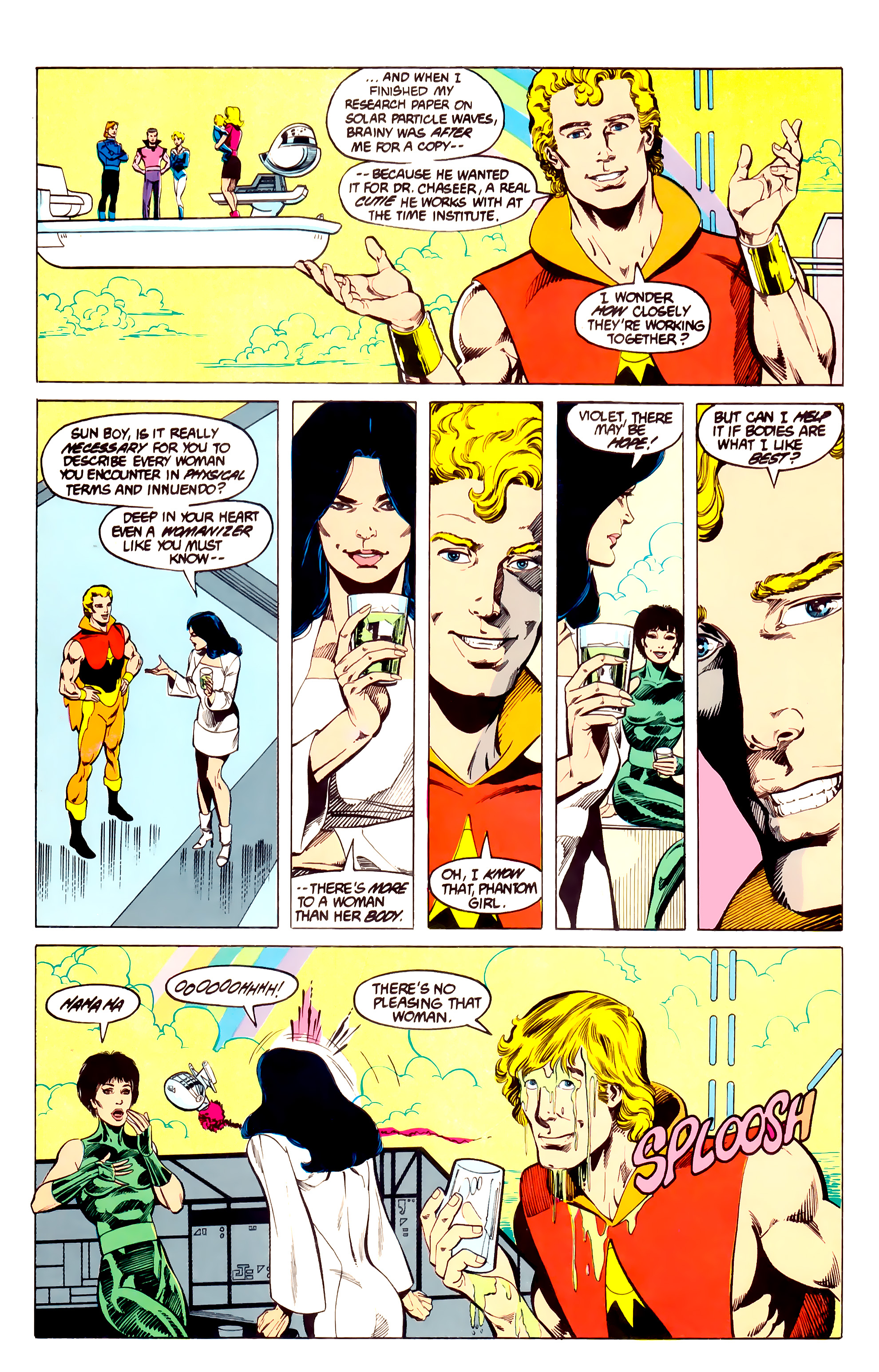 Legion of Super-Heroes (1984) 27 Page 25