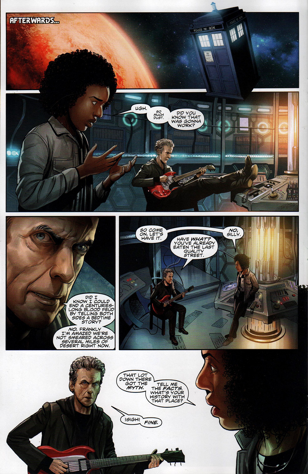Read online Free Comic Book Day 2017 comic -  Issue # Doctor Who - 9