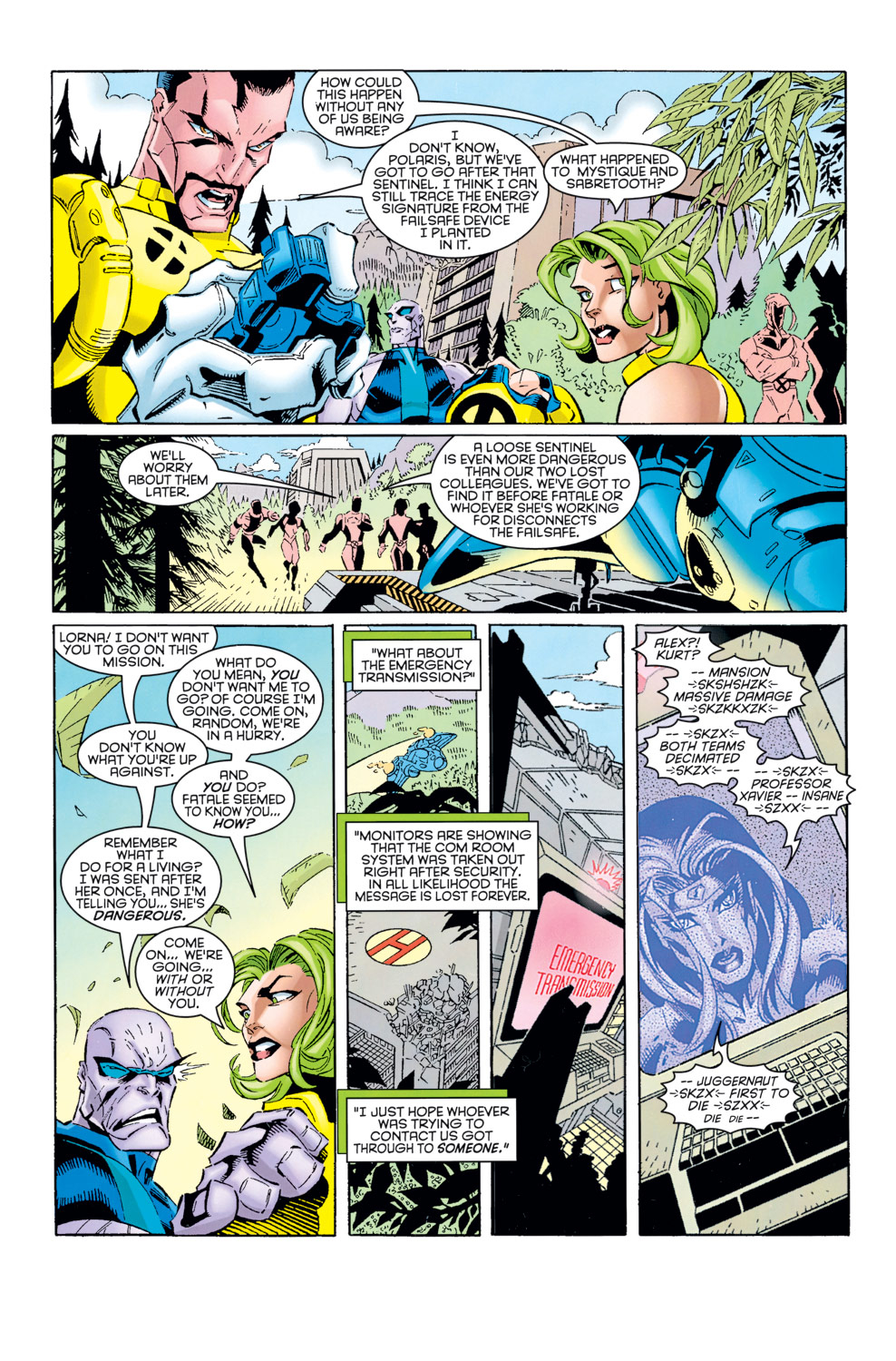 Read online X-Factor (1986) comic -  Issue #125 - 11