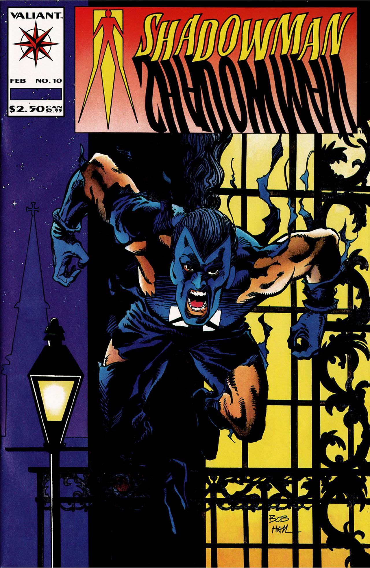 Read online Shadowman (1992) comic -  Issue #10 - 1